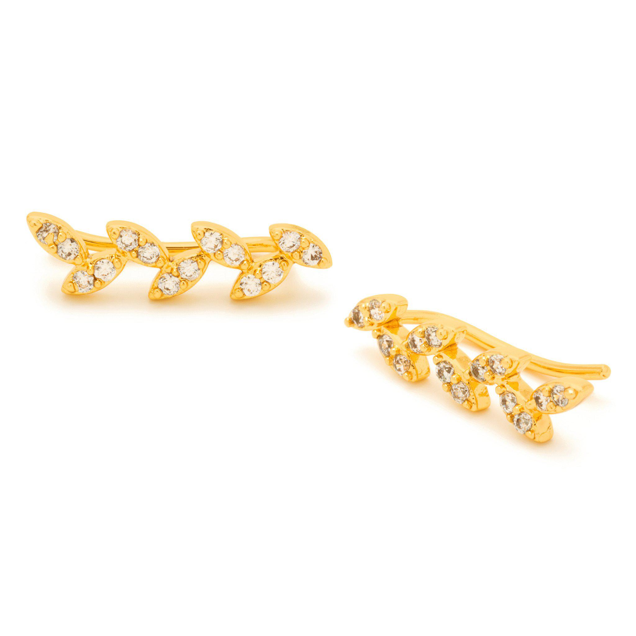 Olymia Ear Climber in Metallic Gold Gorjana maA5L