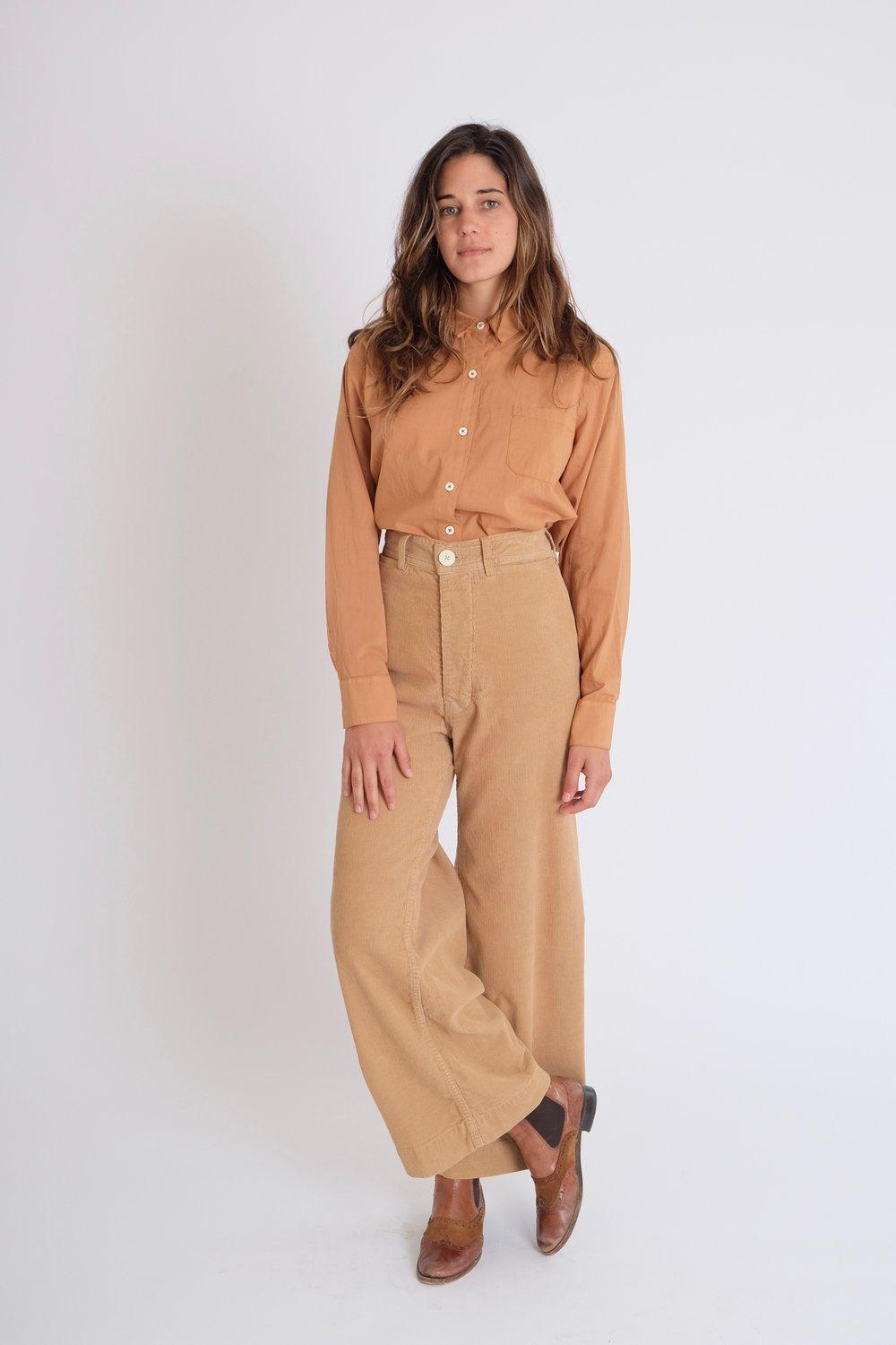 search for genuine wholesale dealer order Jesse Kamm Sailor Pants In Palomino Corduroy in Brown - Lyst