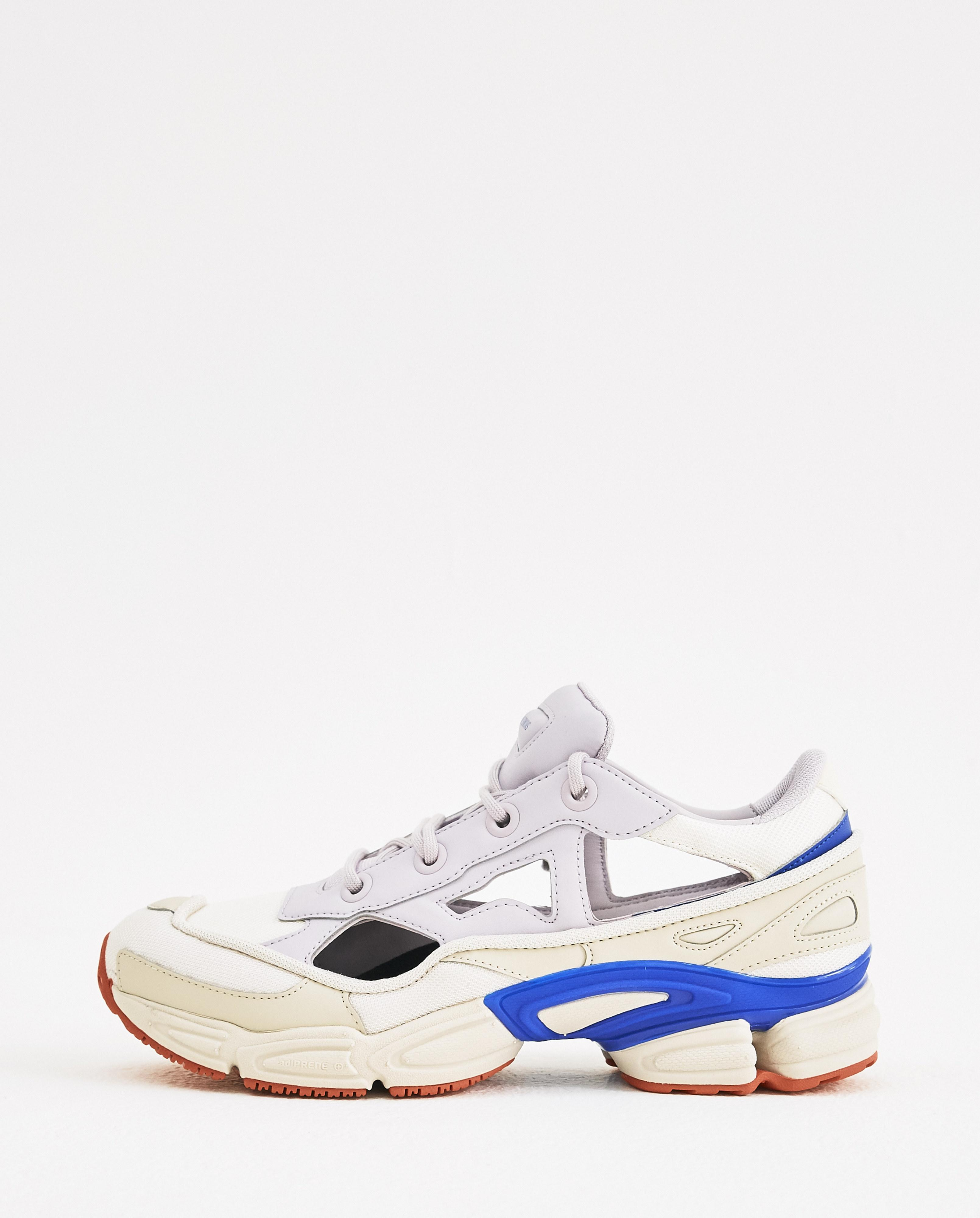 ef9063c915e Lyst - adidas By Raf Simons White And Lilac Replicant Ozweego Us in ...