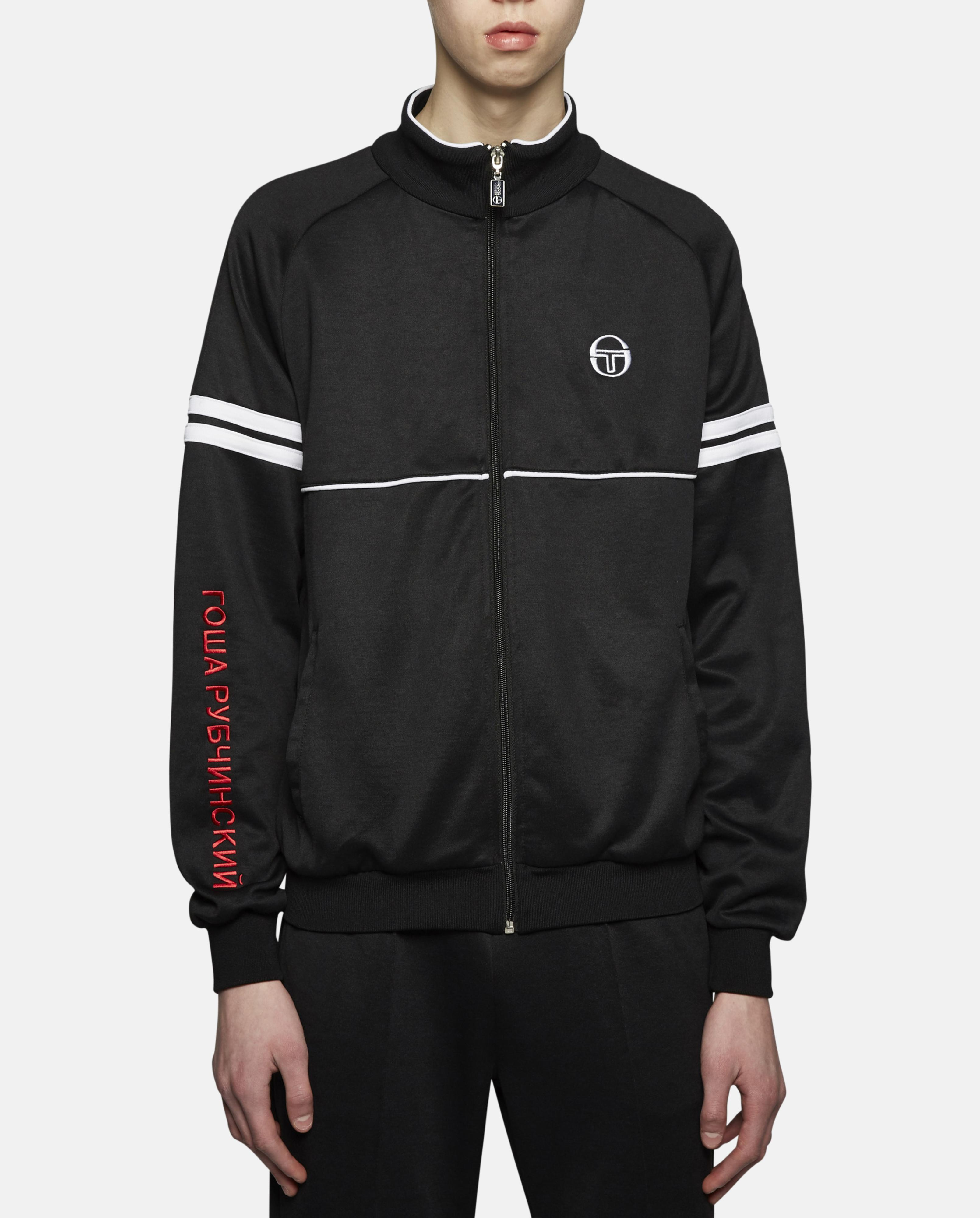 lyst gosha rubchinskiy sergio tacchini track jacket in. Black Bedroom Furniture Sets. Home Design Ideas