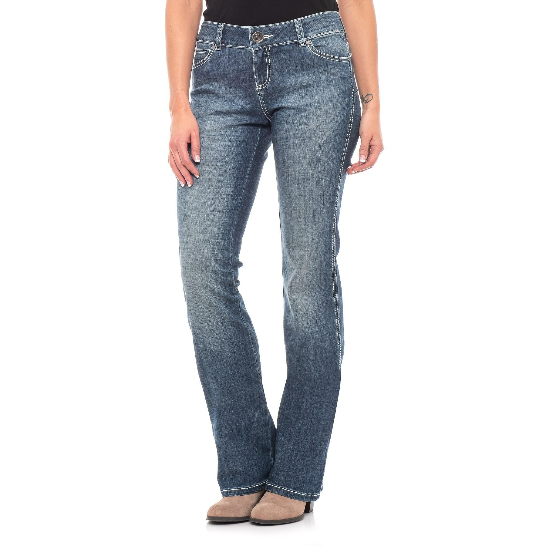602d1c4c Wrangler Mae Booty Up® Jeans in Blue - Lyst