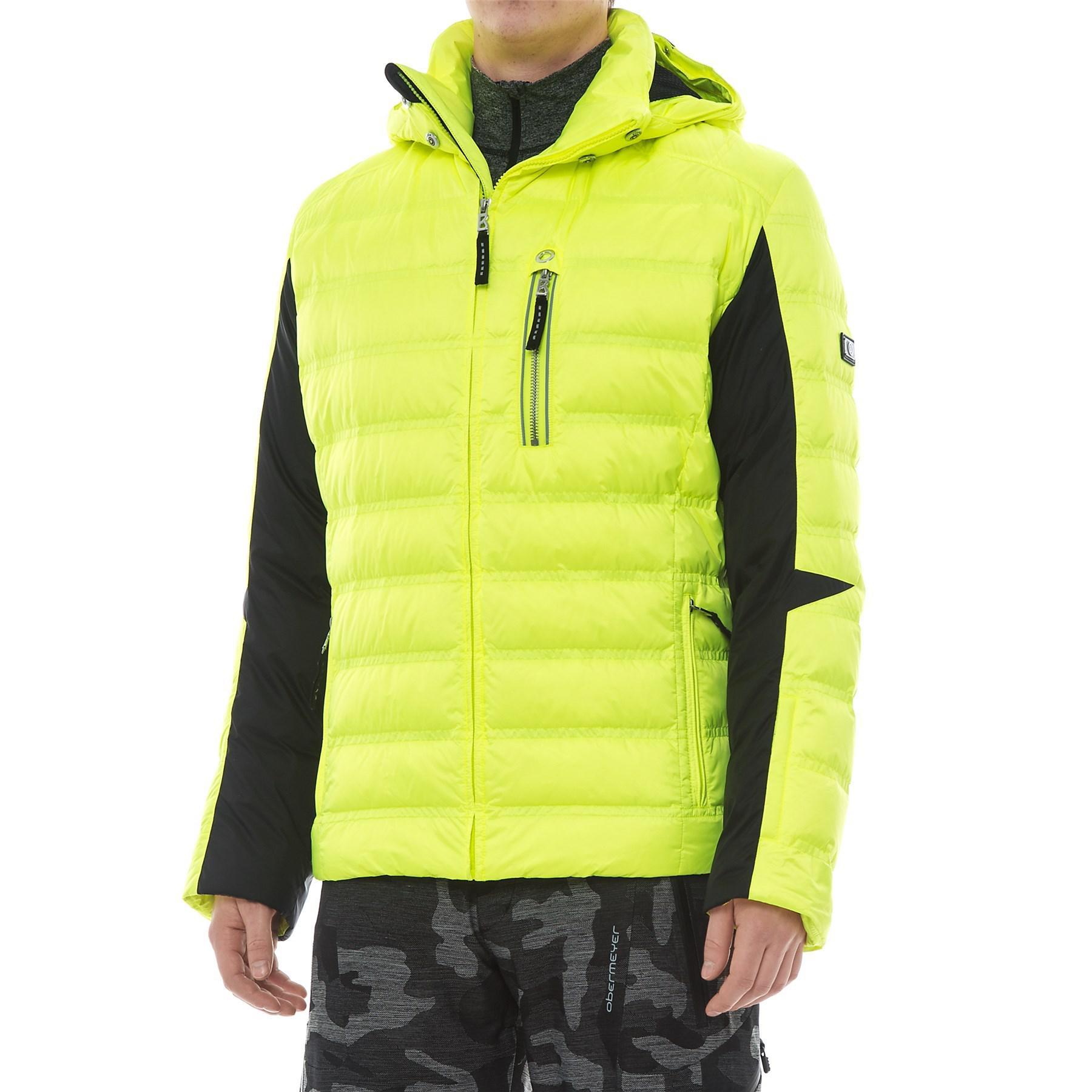 559b24d0 Bogner Adrian-d Down Ski Jacket (for Men) in Yellow for Men - Lyst