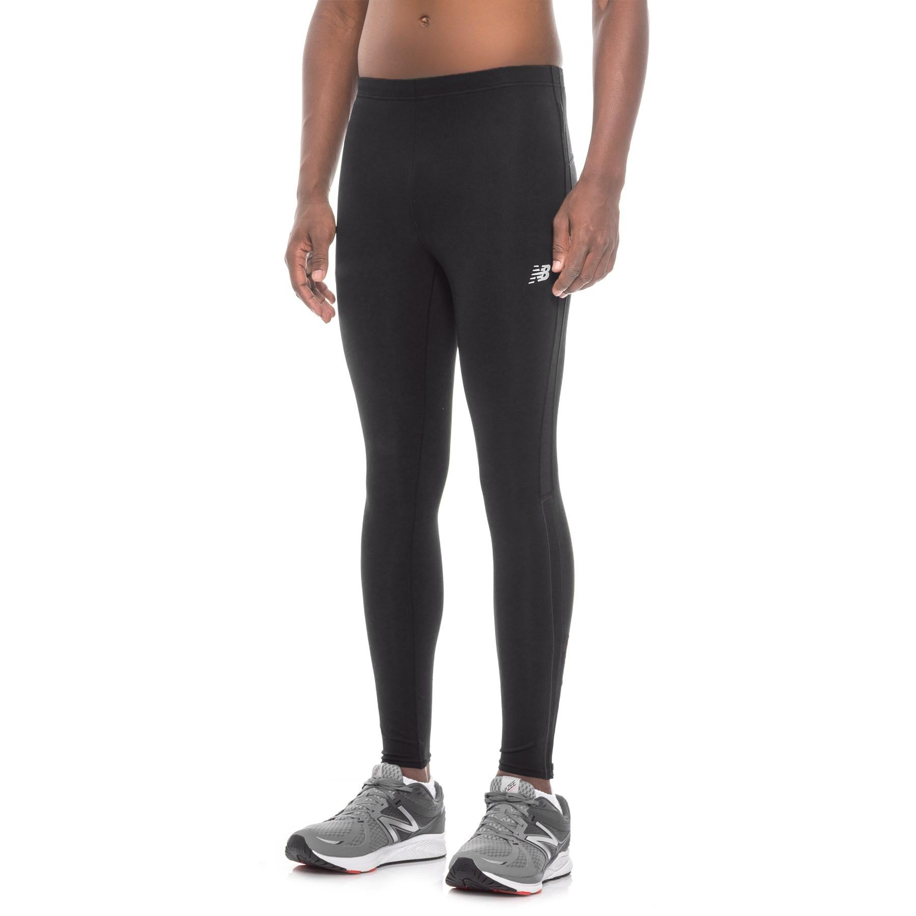 on sale c4e8a e900b Lyst - New Balance Accelerate Running Tights (for Men) in Black for Men