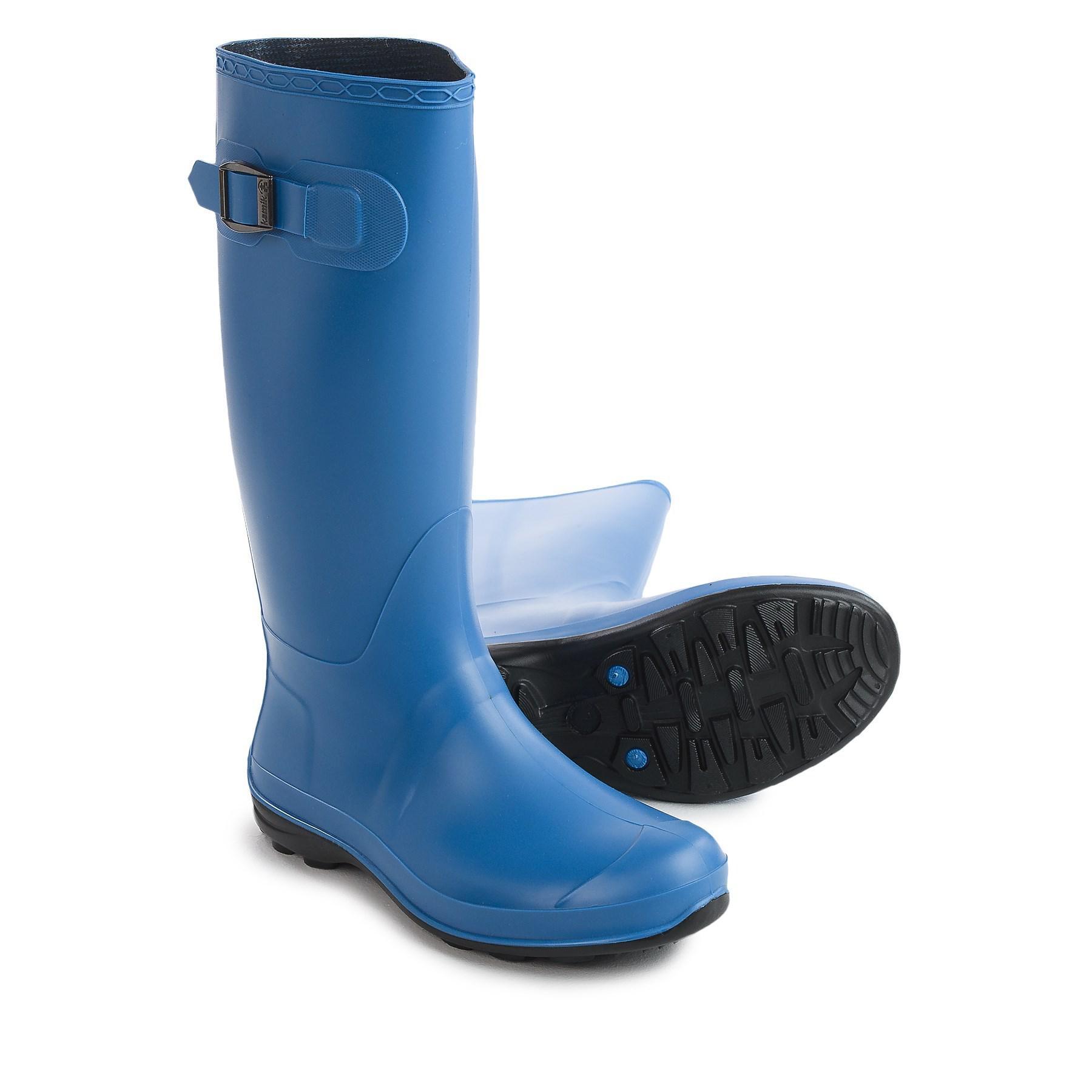 b0c38f30ca57 Lyst - Kamik Olivia Rain Boots in Blue