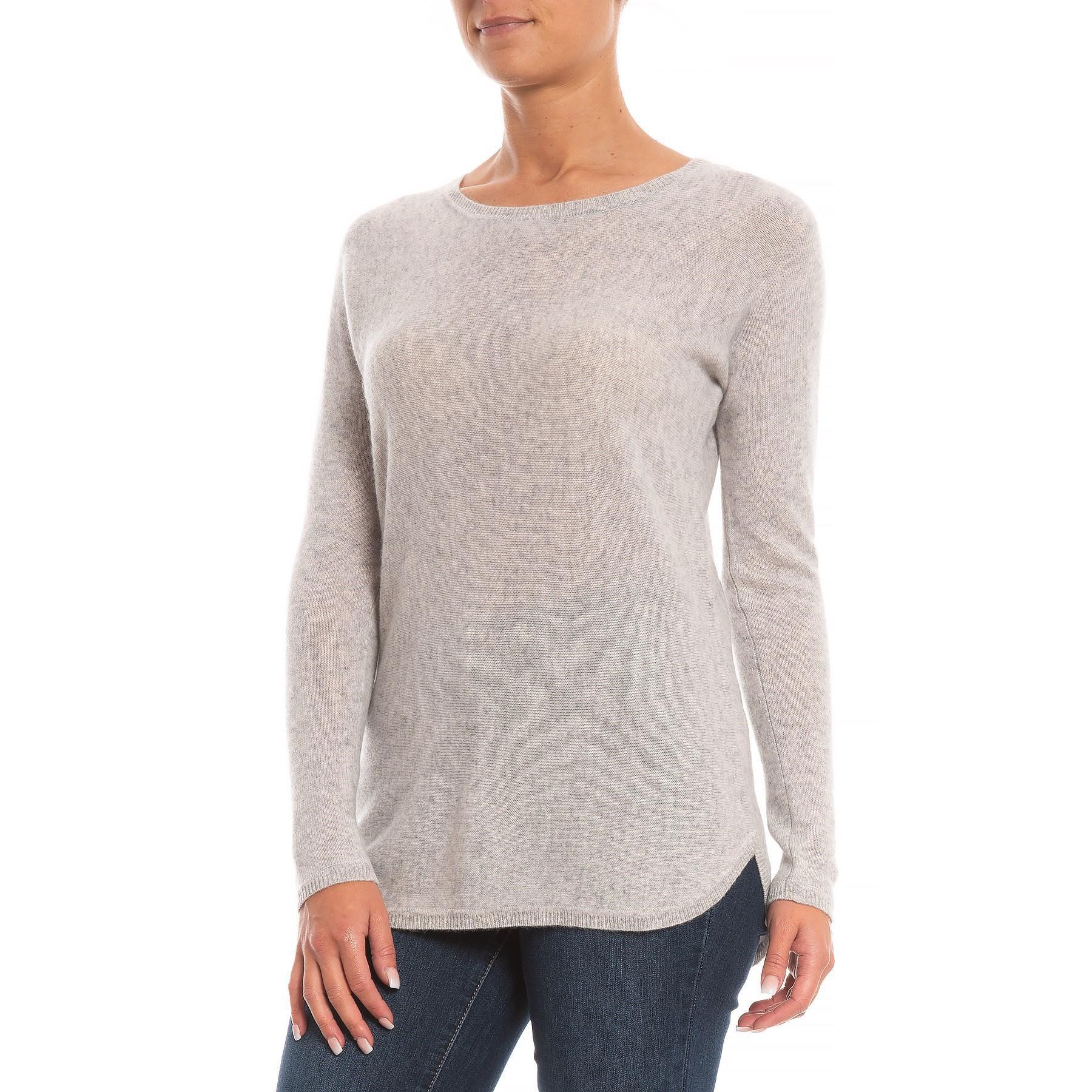 großer Rabatt Gutscheincode 100% Zufriedenheitsgarantie Max Studio Back Zip Cashmere Sweater (for Women) in Gray - Lyst