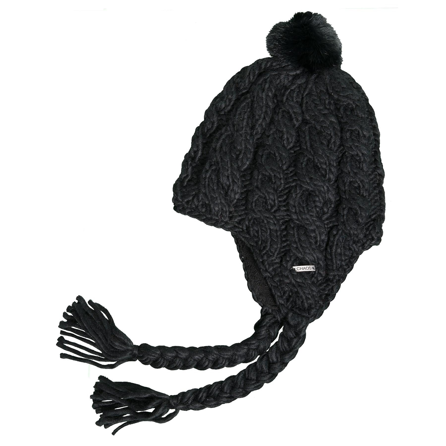 e042daa98c9 Lyst - Chaos Tenille Cable-knit Ear Flap Beanie With Pom (for Women ...