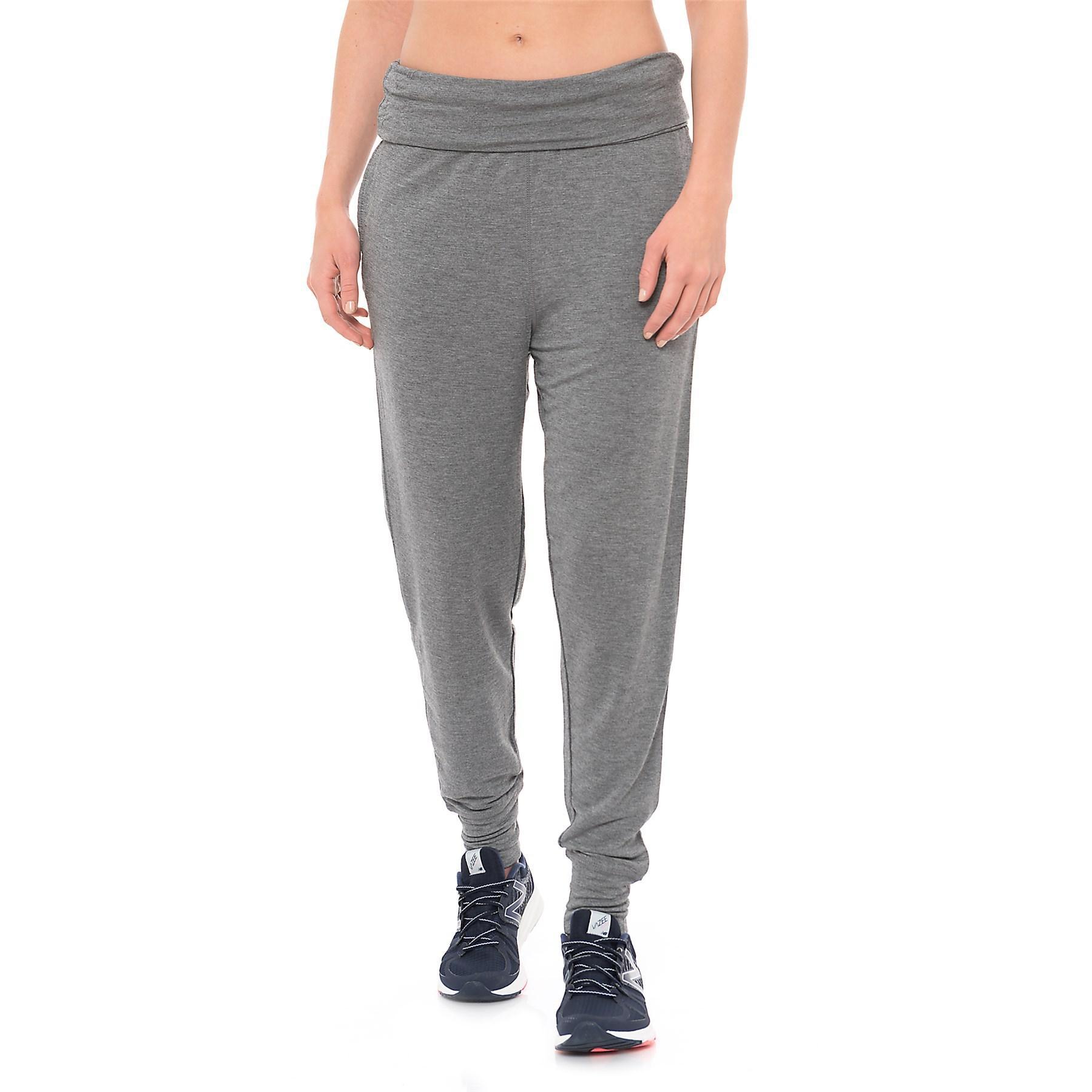 f1ca6620b9db1 Gaiam Piper Harem Joggers (for Women) in Gray - Lyst