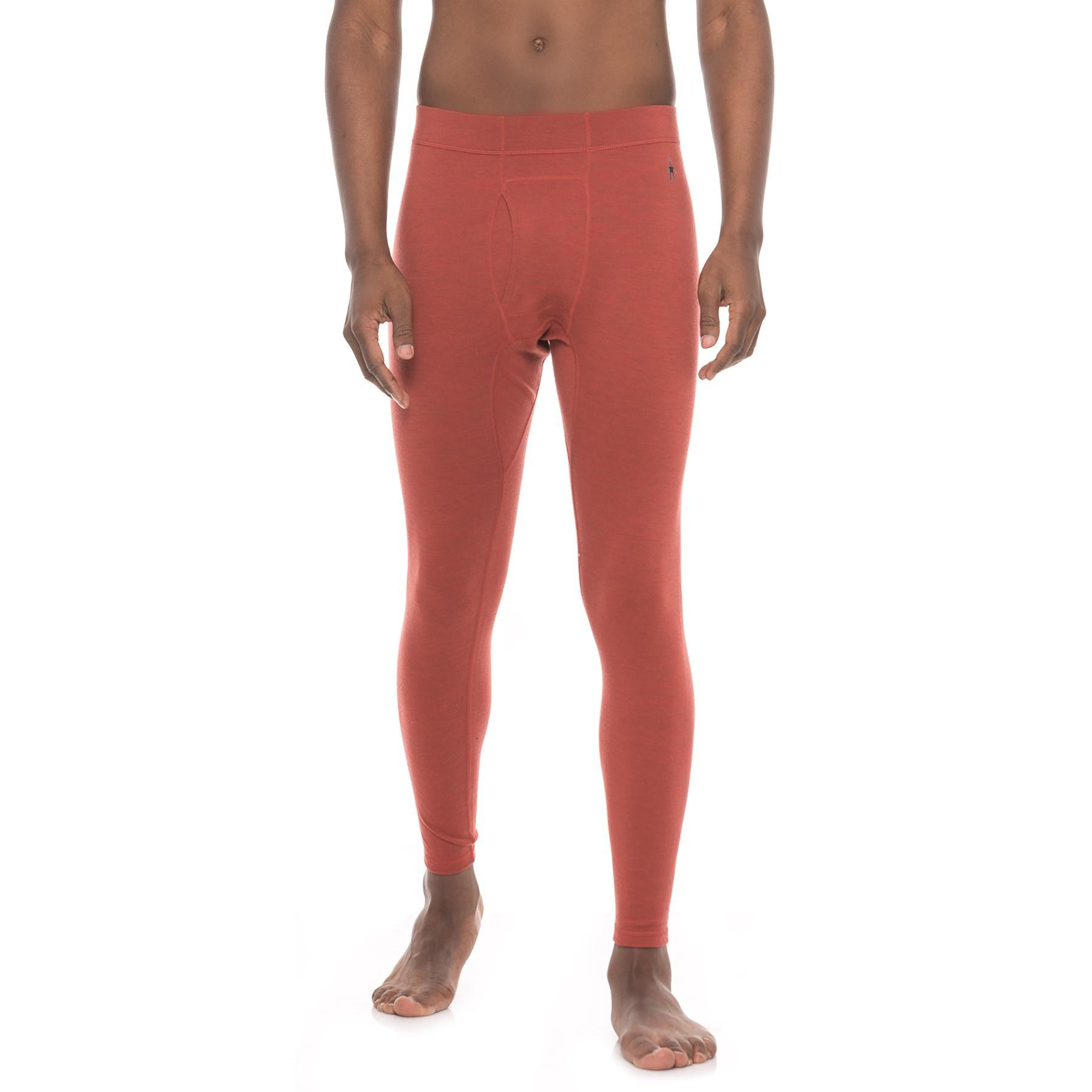 9867e53a4aa8 Lyst - Smartwool Nts 250 Base Layer Bottoms in Red for Men