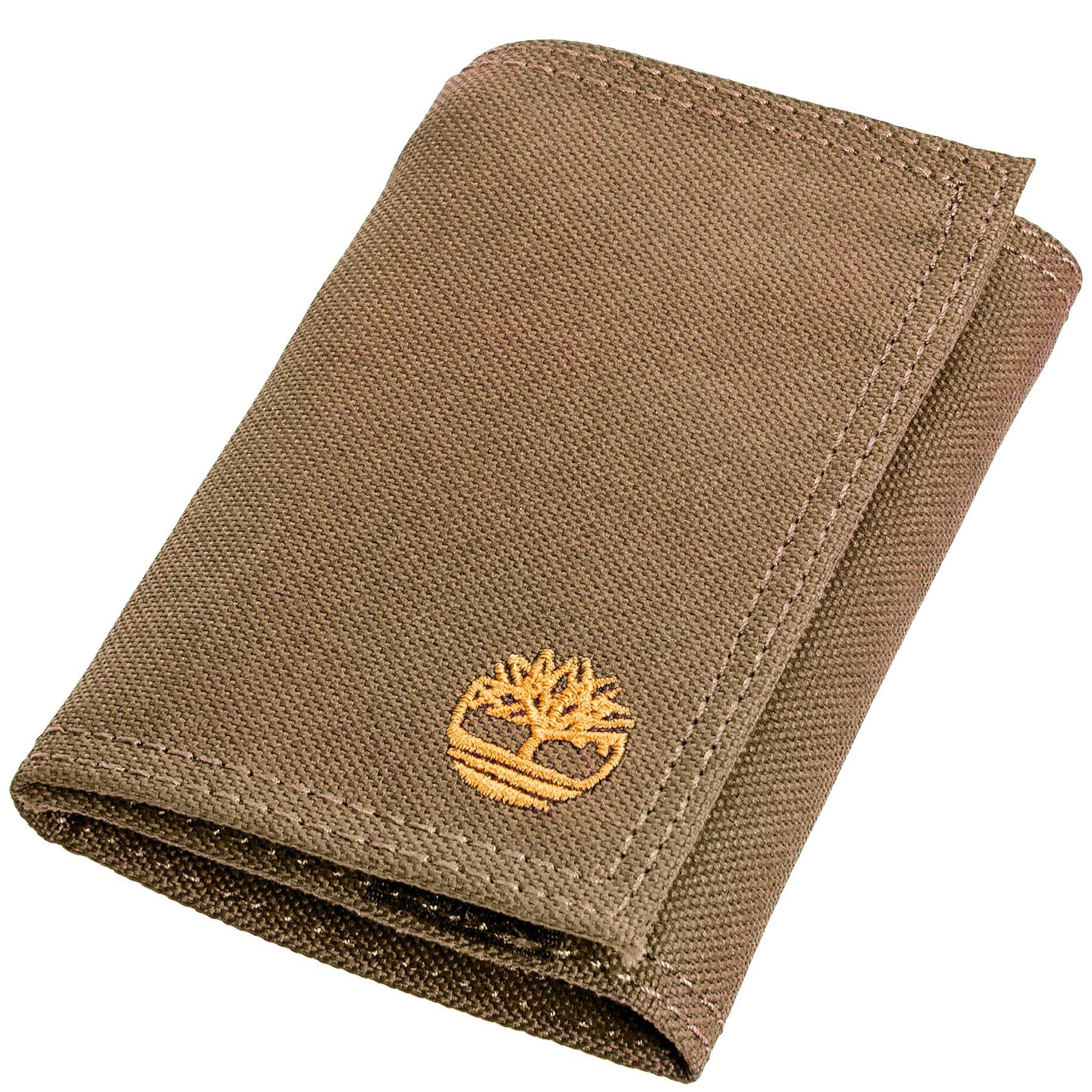 be462b2fb0ce Lyst - Timberland Nylon Trifold Wallet in Natural for Men