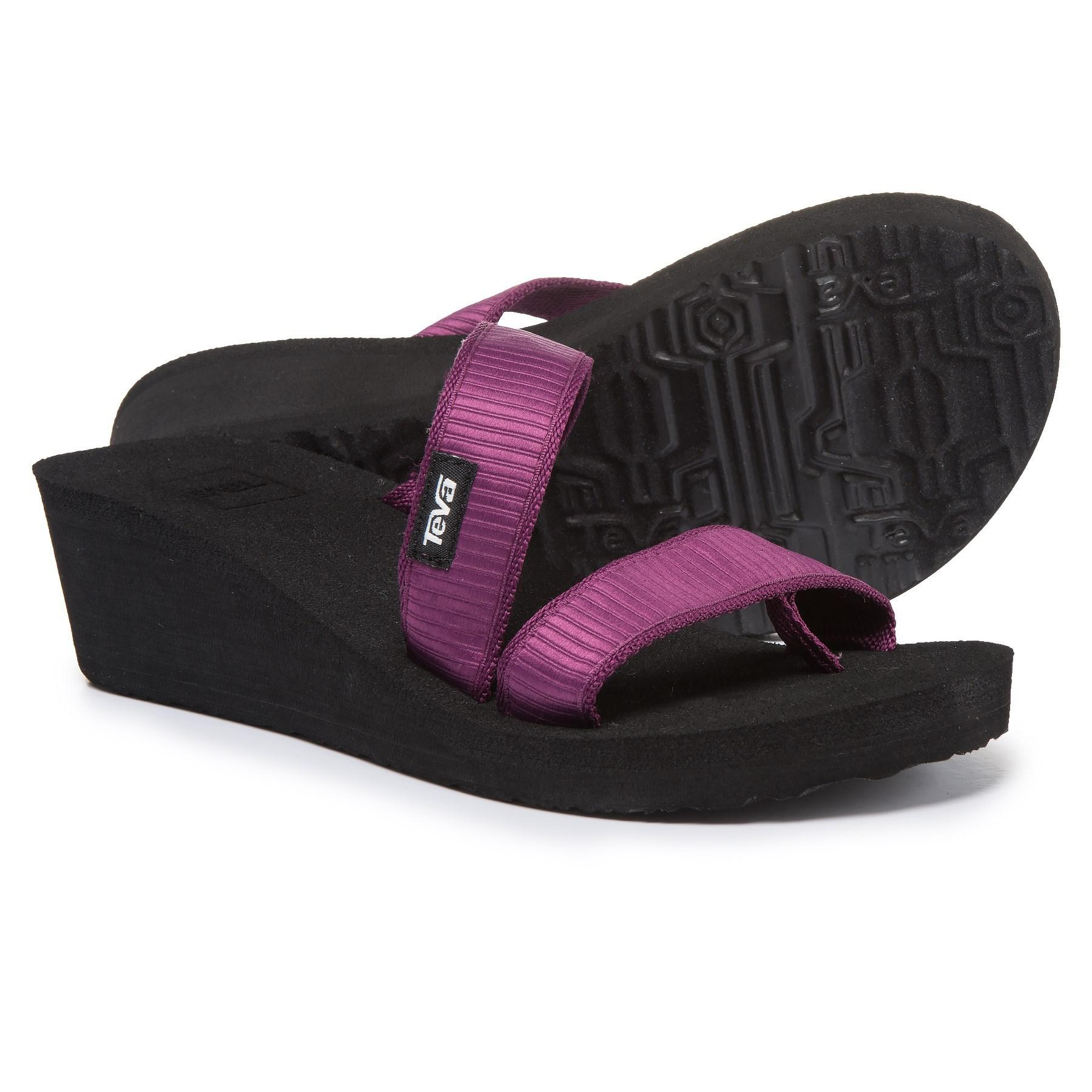9e3f3430cbcd Teva - Purple Mush® Mandalyn Wedge Loma Sandals (for Women) - Lyst. View  fullscreen