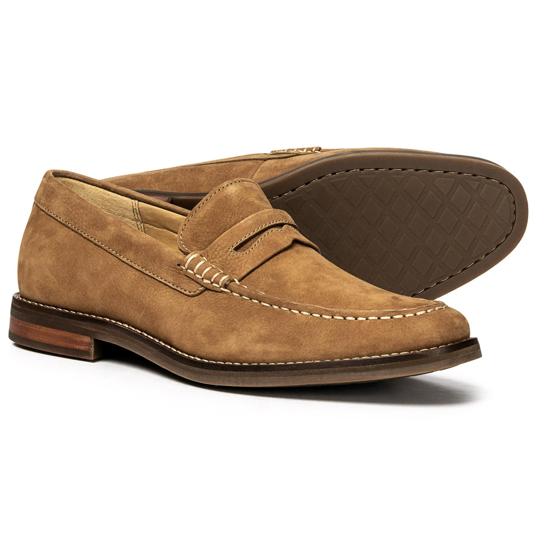 cfa6f0970d8 Lyst - Sperry Top-Sider Gold Cup Exeter Penny Loafers in Brown for Men