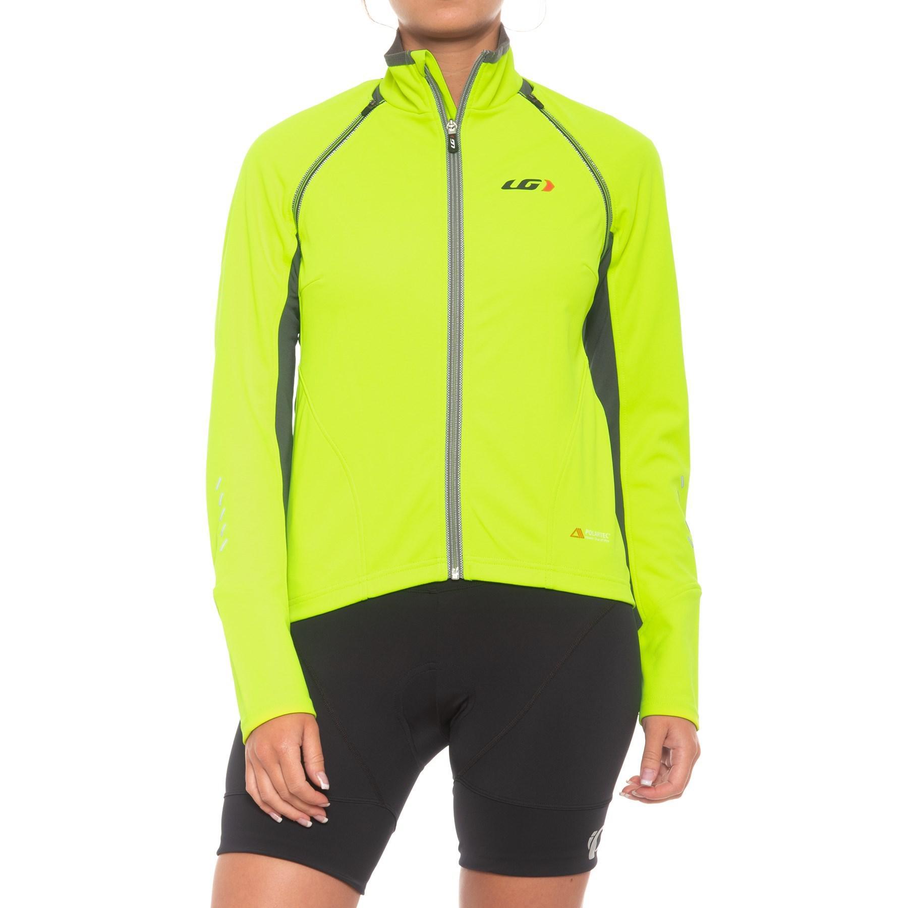 Louis Garneau. Yellow Spire Polartec® Power Shield® Convertible Cycling  Jacket (for Women) 6979fa2ca
