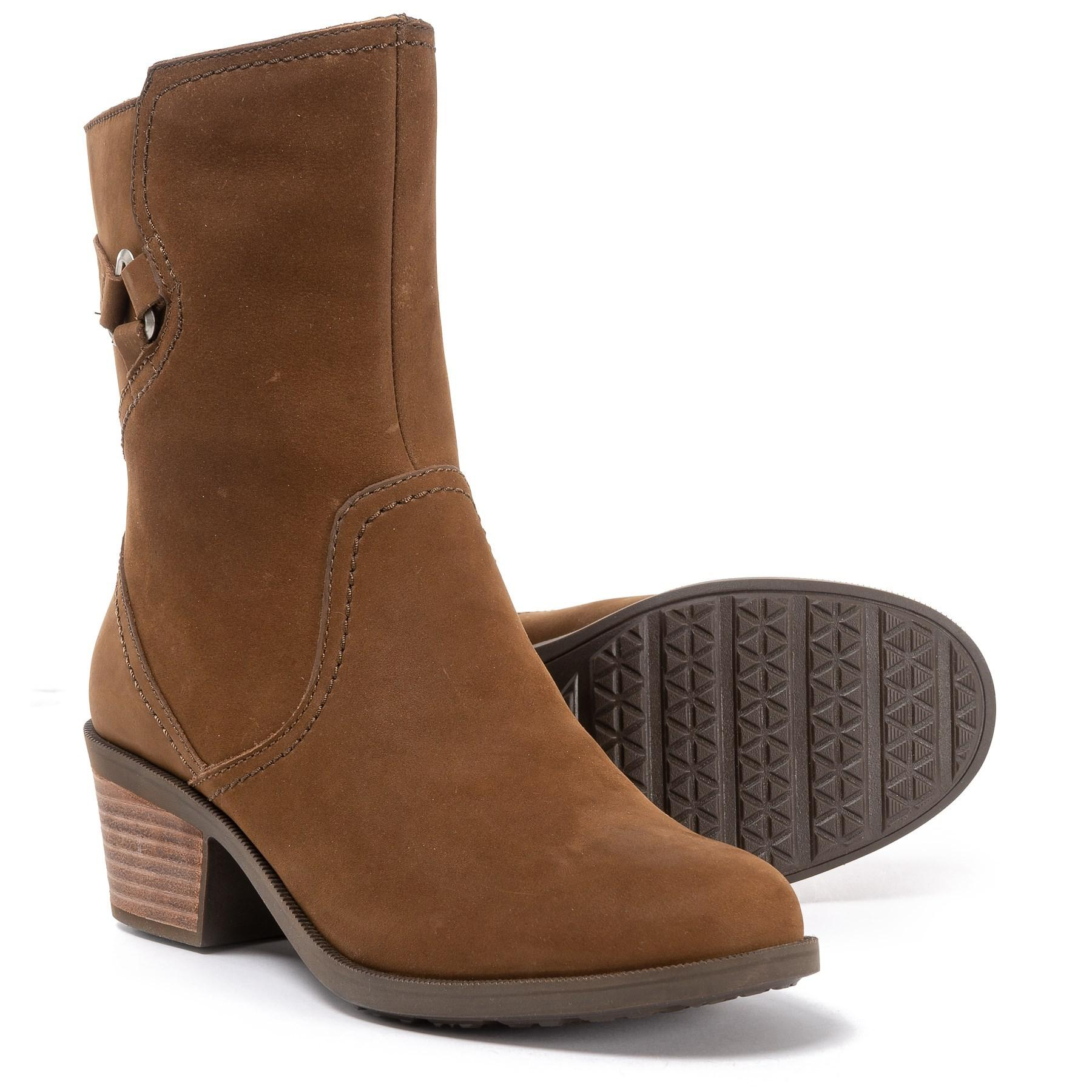4775f312e Lyst - Teva Foxy Mid Leather Boots (for Women) in Brown