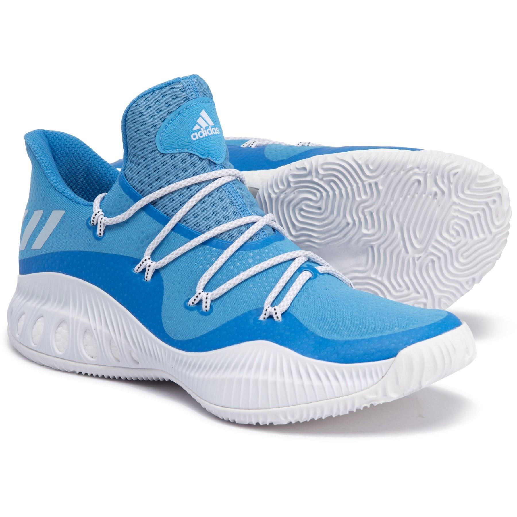 best loved 13222 319e8 adidas. Blue Sm Crazy Explosive Low Basketball ...