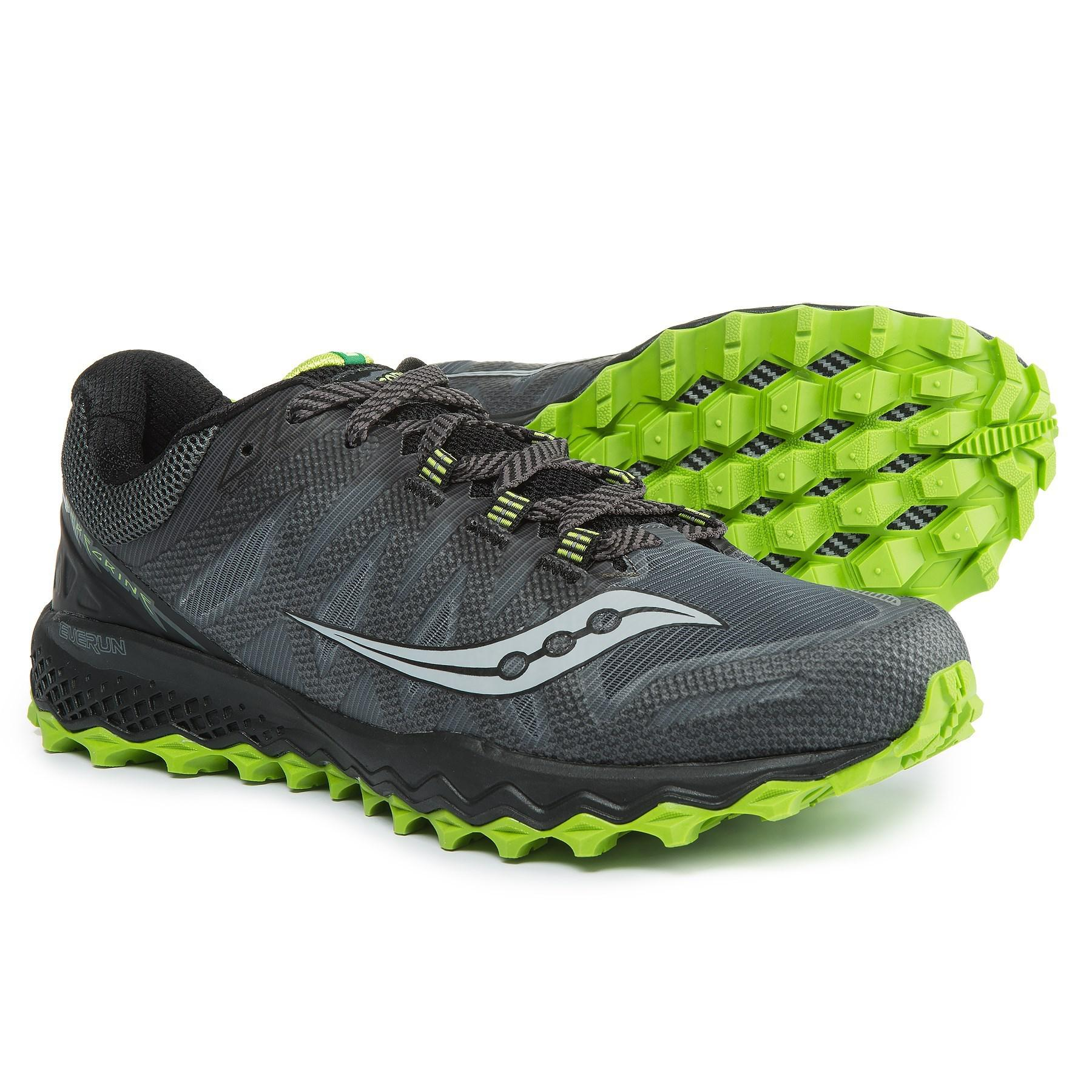Saucony Green Peregrine 7 Trail Running Shoes (for Men) for Men Lyst