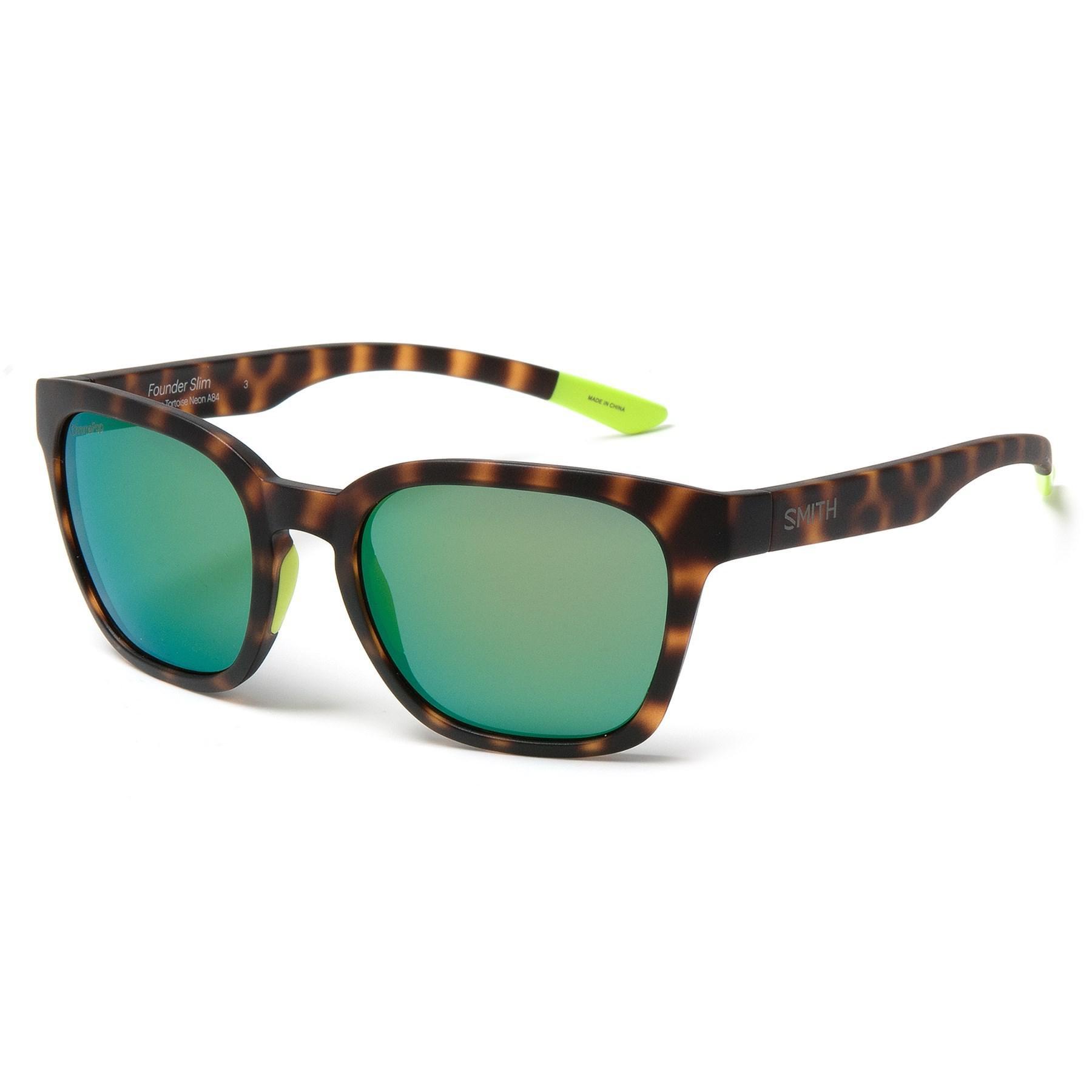349f15aadaf81 Lyst - Smith Optics Founder Slim Sunglasses in Green for Men