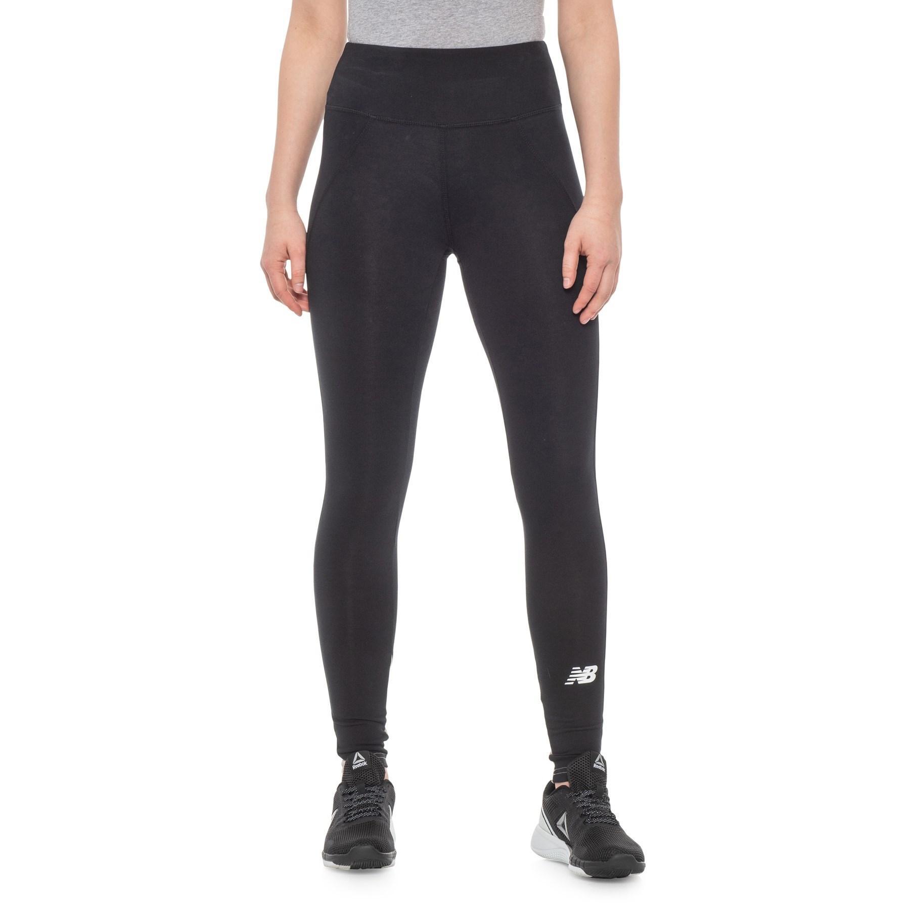 c73eb0c2f9449 Lyst - New Balance 24/7 Sport Leggings (for Women) in Black
