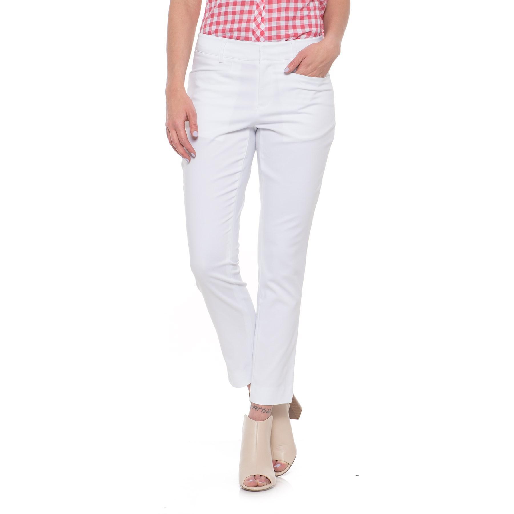 868e15d8965f Lyst - Foxcroft Rachel Ankle Pants (for Women) in White
