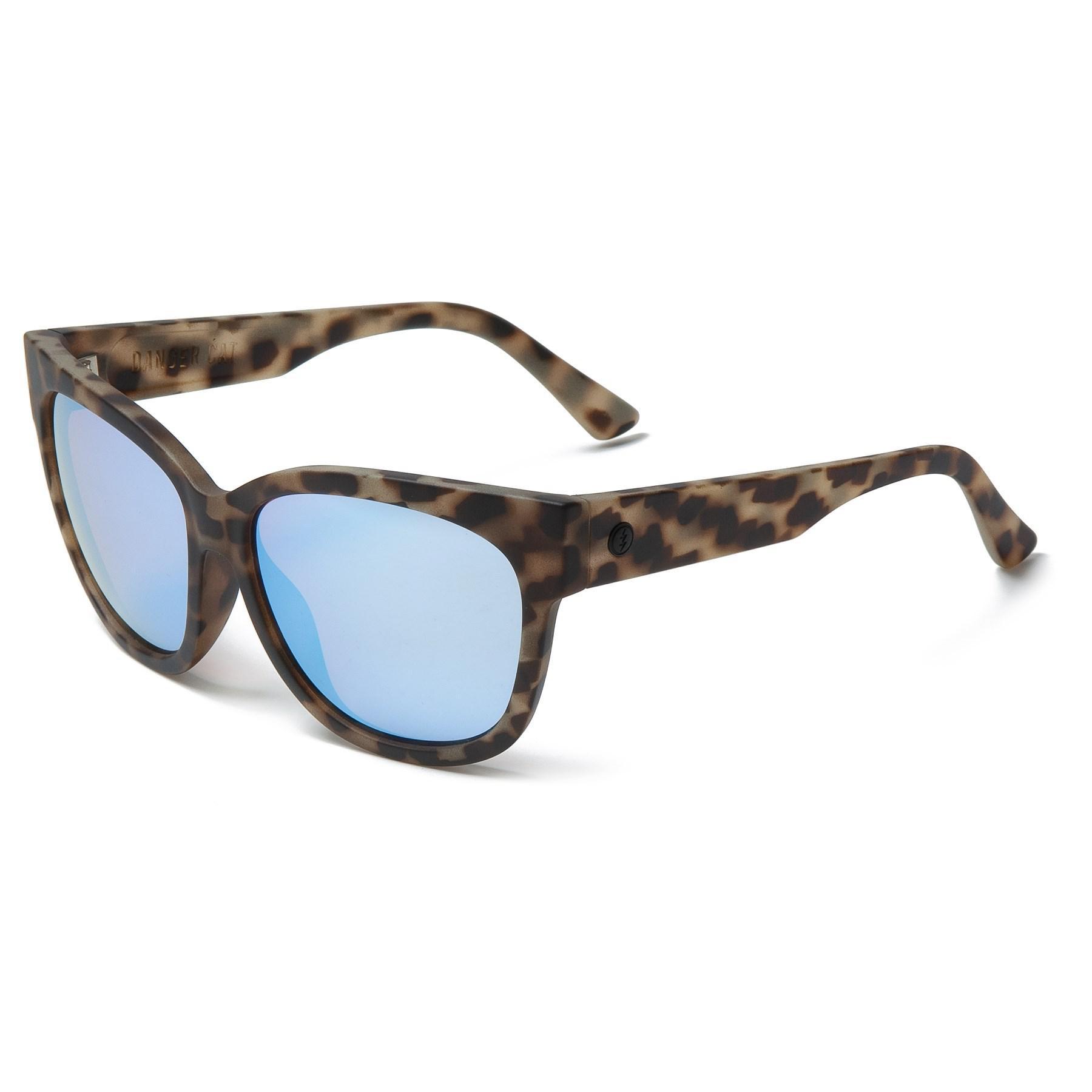 b1d2e990648 Lyst - Electric Danger Cat Ohm Lens Sunglasses (for Women) in Blue