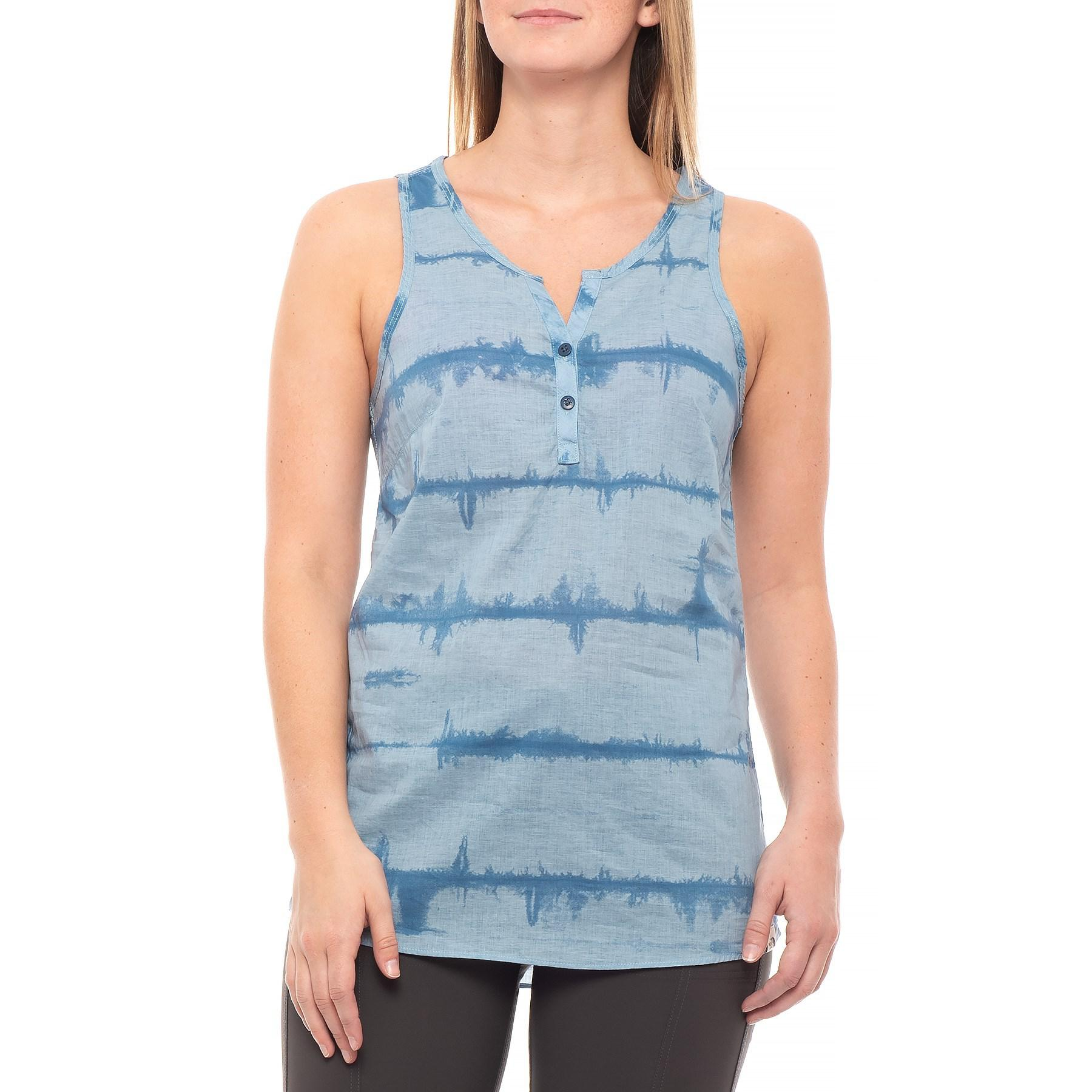 1d08af4a1 The North Face Barilles Tank Top in Blue - Lyst