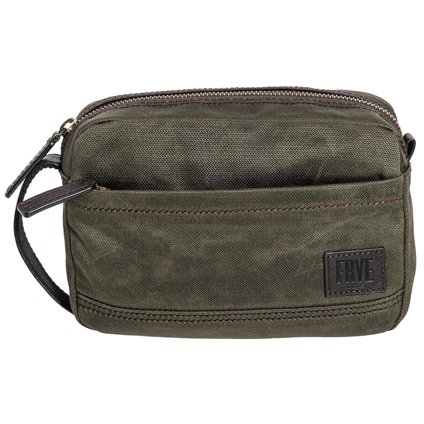 888f702431 Lyst - Frye Carter Slim Dopp Kit (for Men) in Green for Men