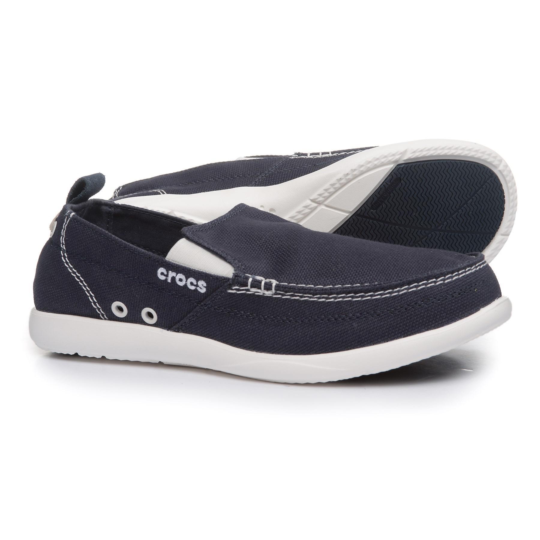 5c9e2bbe0 Lyst - Crocs™ Walu Loafers (for Men) in Blue for Men