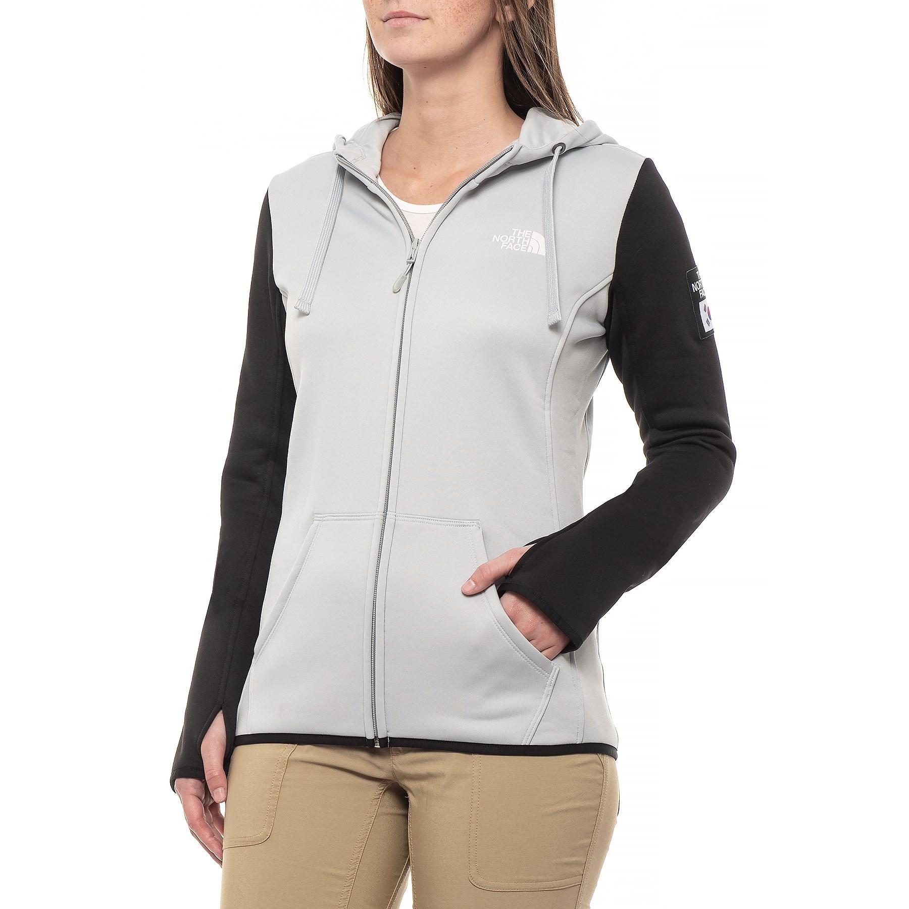 Lyst - The North Face Ic Half Dome Hoodie (for Women) in Gray ca8a2789c