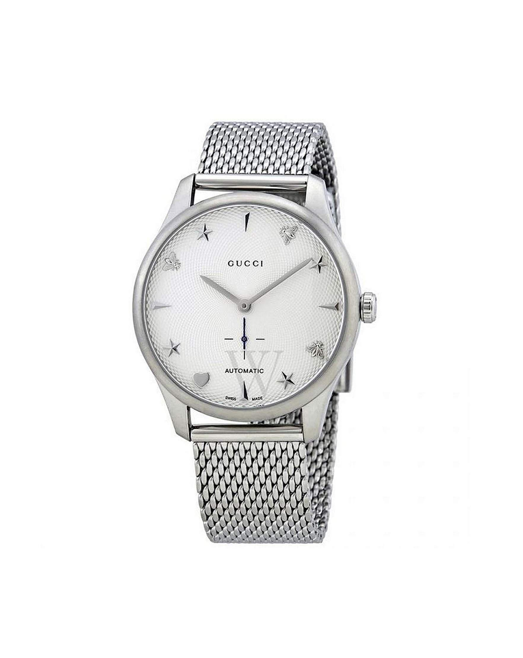 faaae44e703 Gucci G-timeless Automatic Ladies Watch in Metallic - Lyst