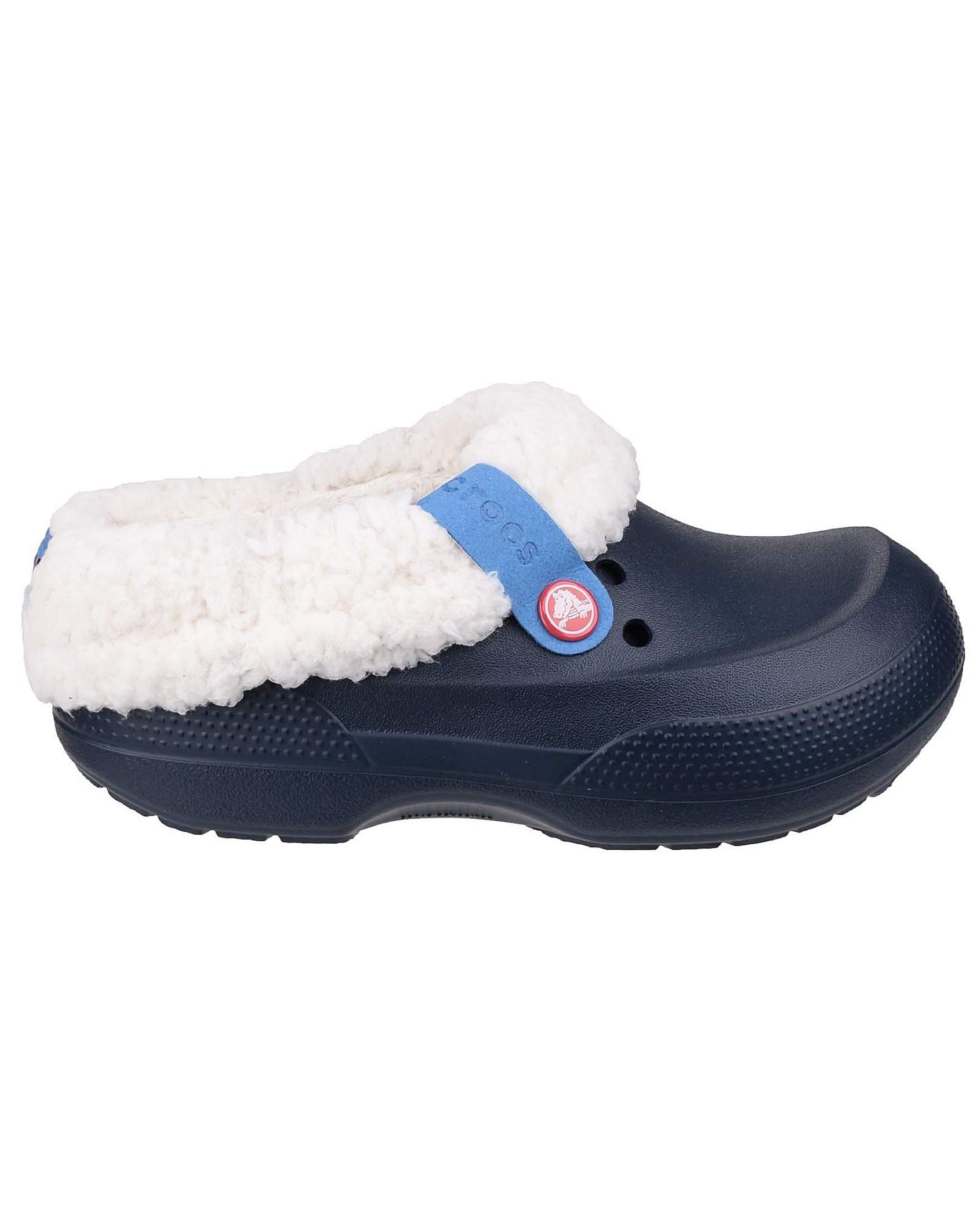 32ef4465c Crocs™ Blitzen Ii Kids Mule Slippers in Blue - Lyst