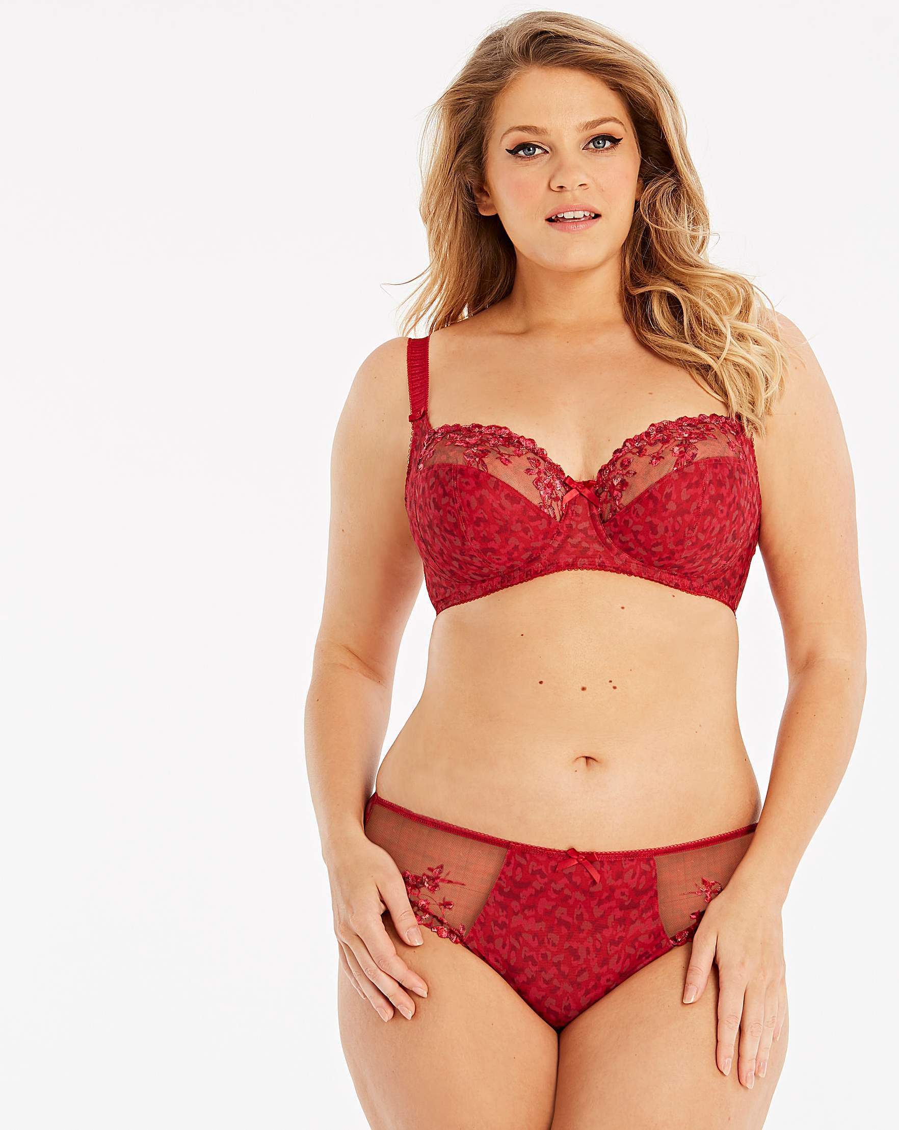 073523ba0c Fantasie Lola Full Cup Wired Bra in Red - Lyst