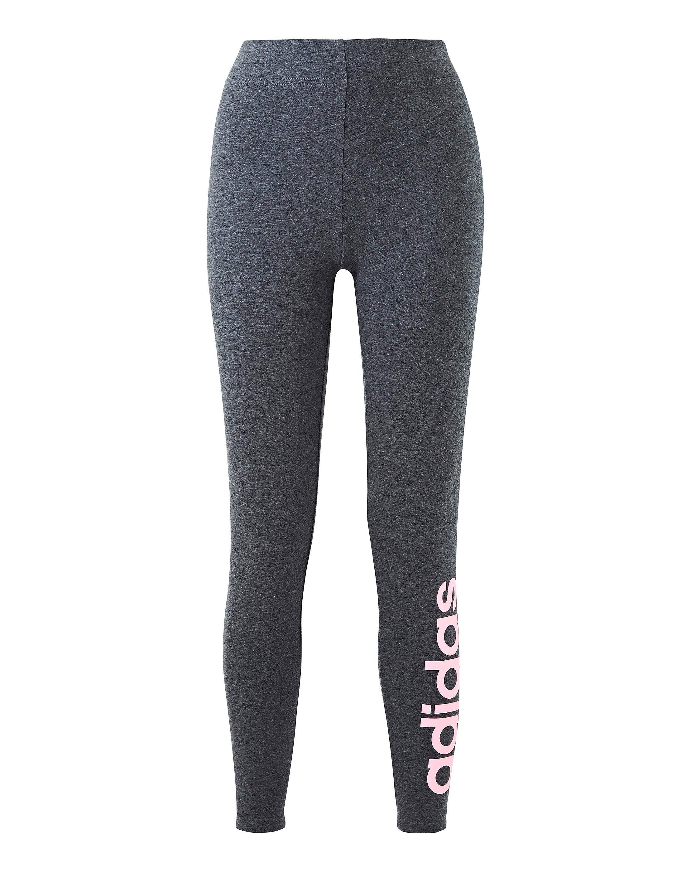 05e84b75f50ac Lyst - Simply Be Adidas Linear Tight in Gray