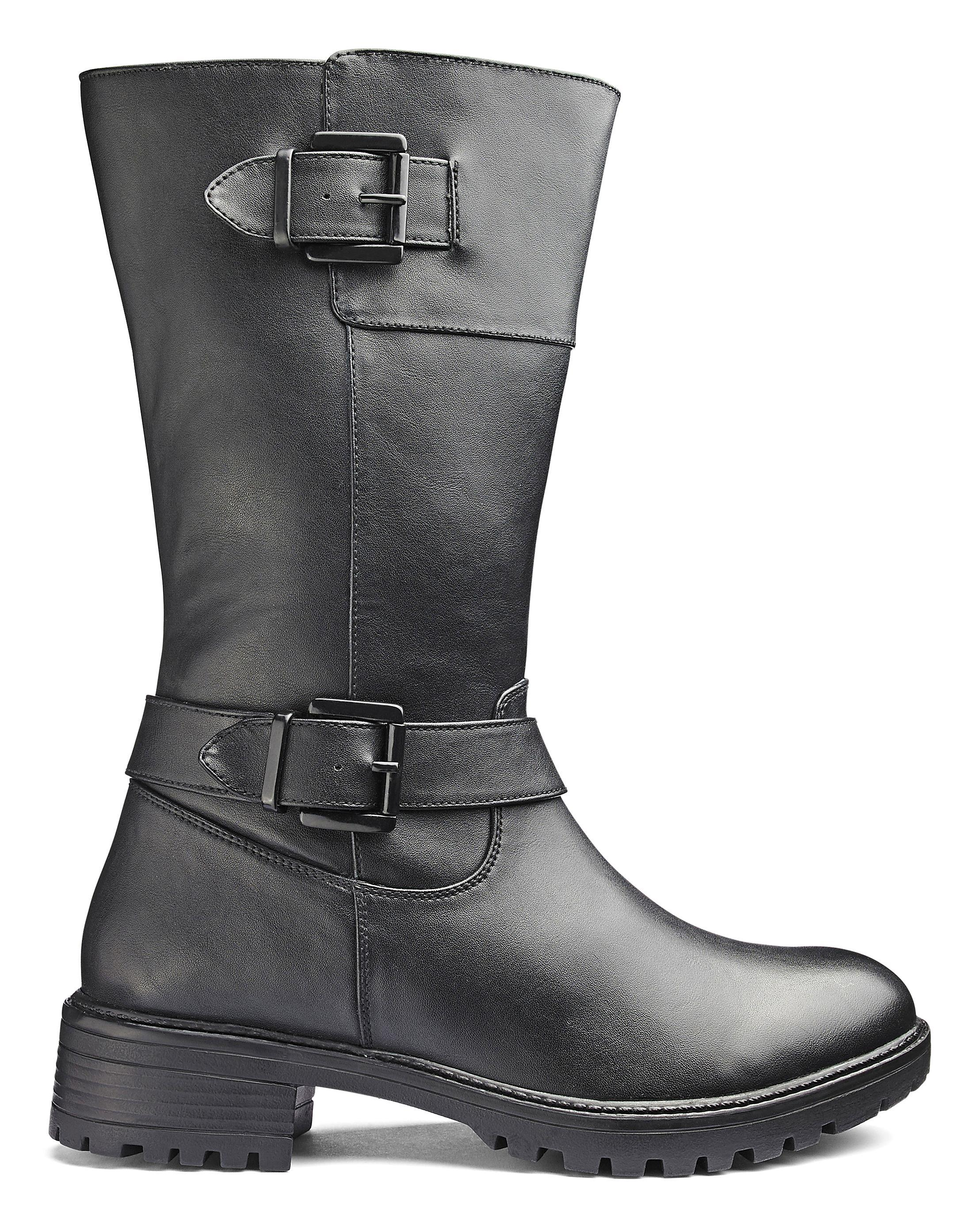 dbf7089412f Lyst - Simply Be Jackie Boots in Black