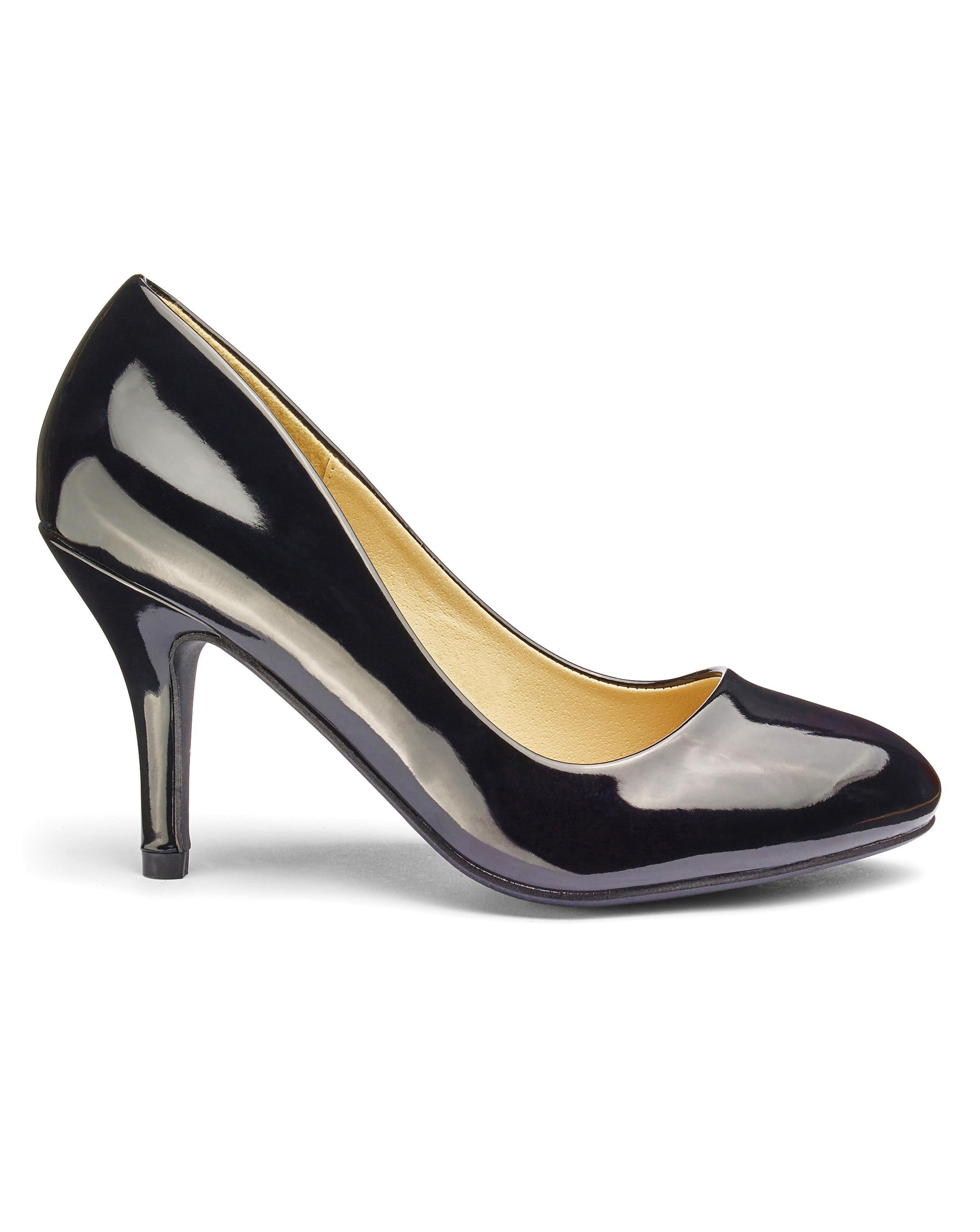 fe9ec855fb3 Lyst - Simply Be Sole Diva Basic Pumps in Black
