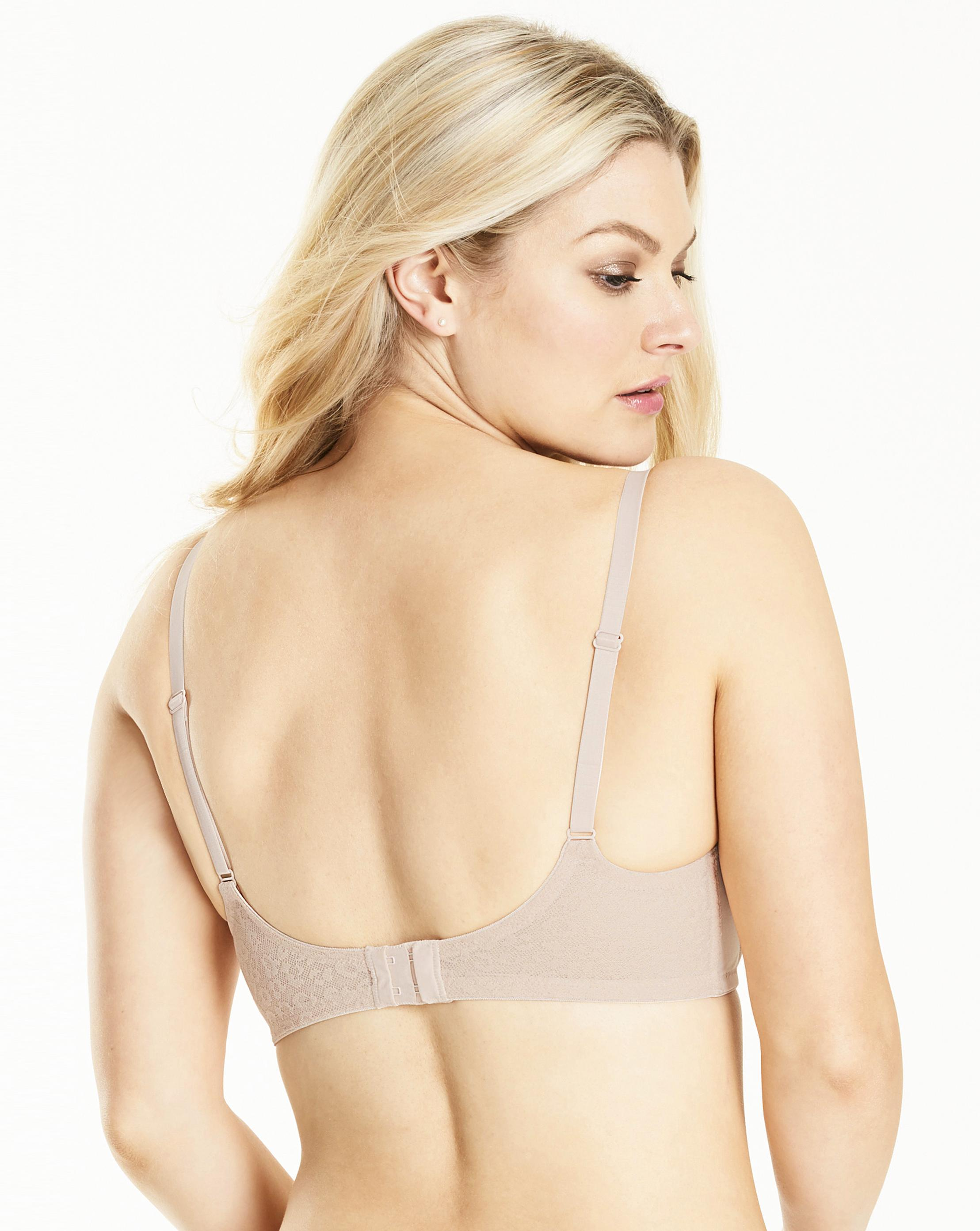 ea2cede11f Lyst - Simply Be Sienna Balcony T Shirt Bra in Natural