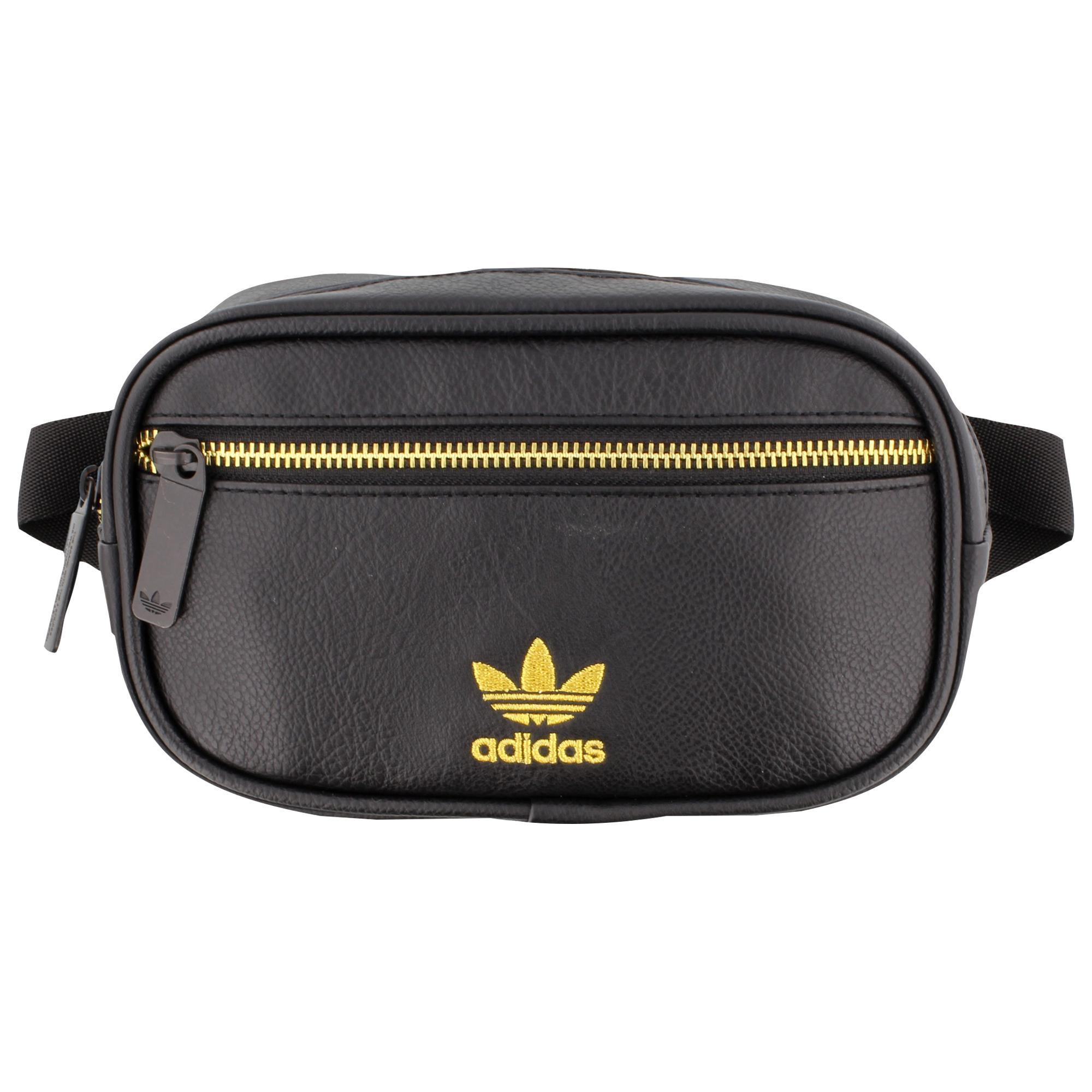 dbe7ee6ad75e Lyst - adidas Originals Pu Leather Waist Pack in Black for Men