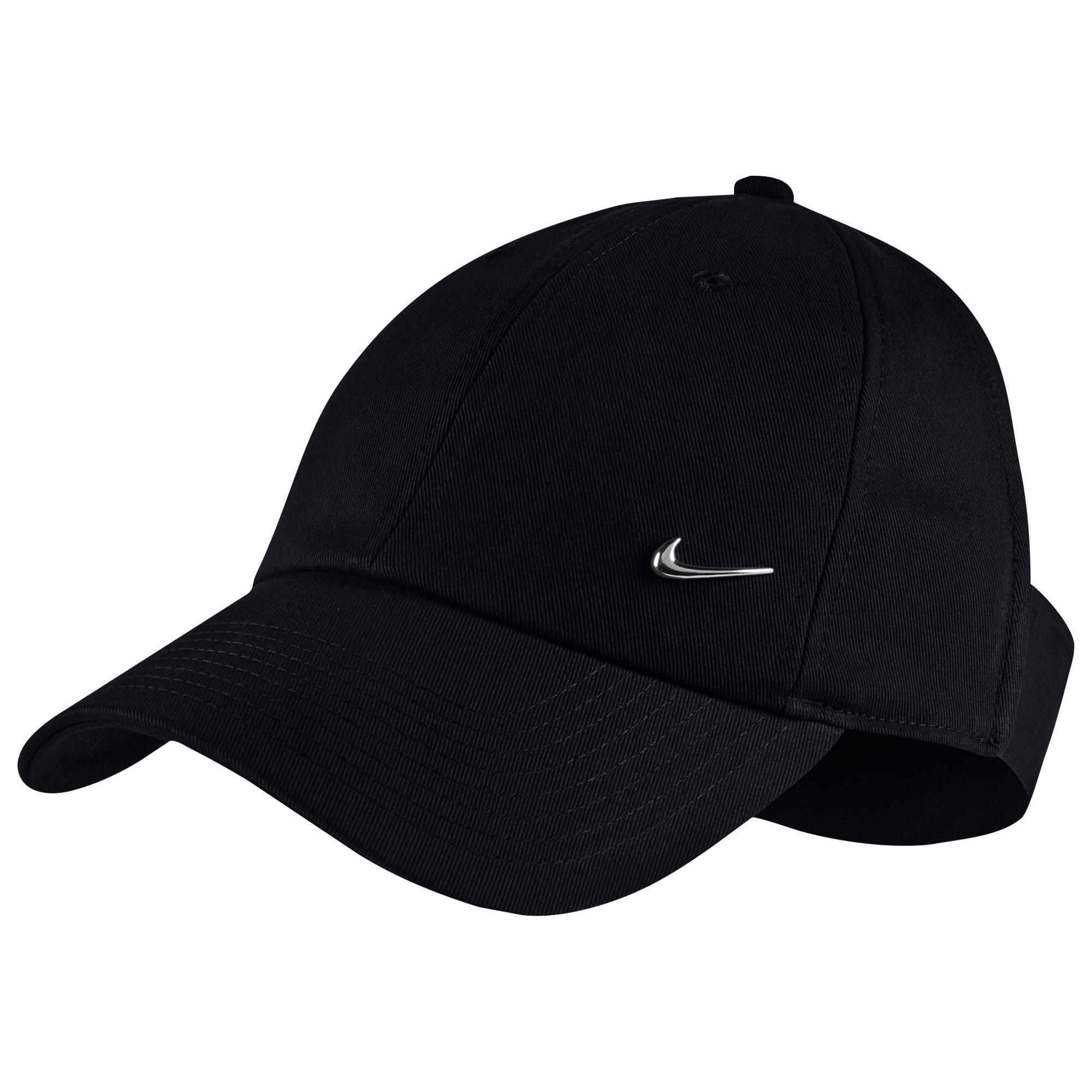 buy online a8dcd 689f1 Nike. Women s Black Nsw Visor Cap