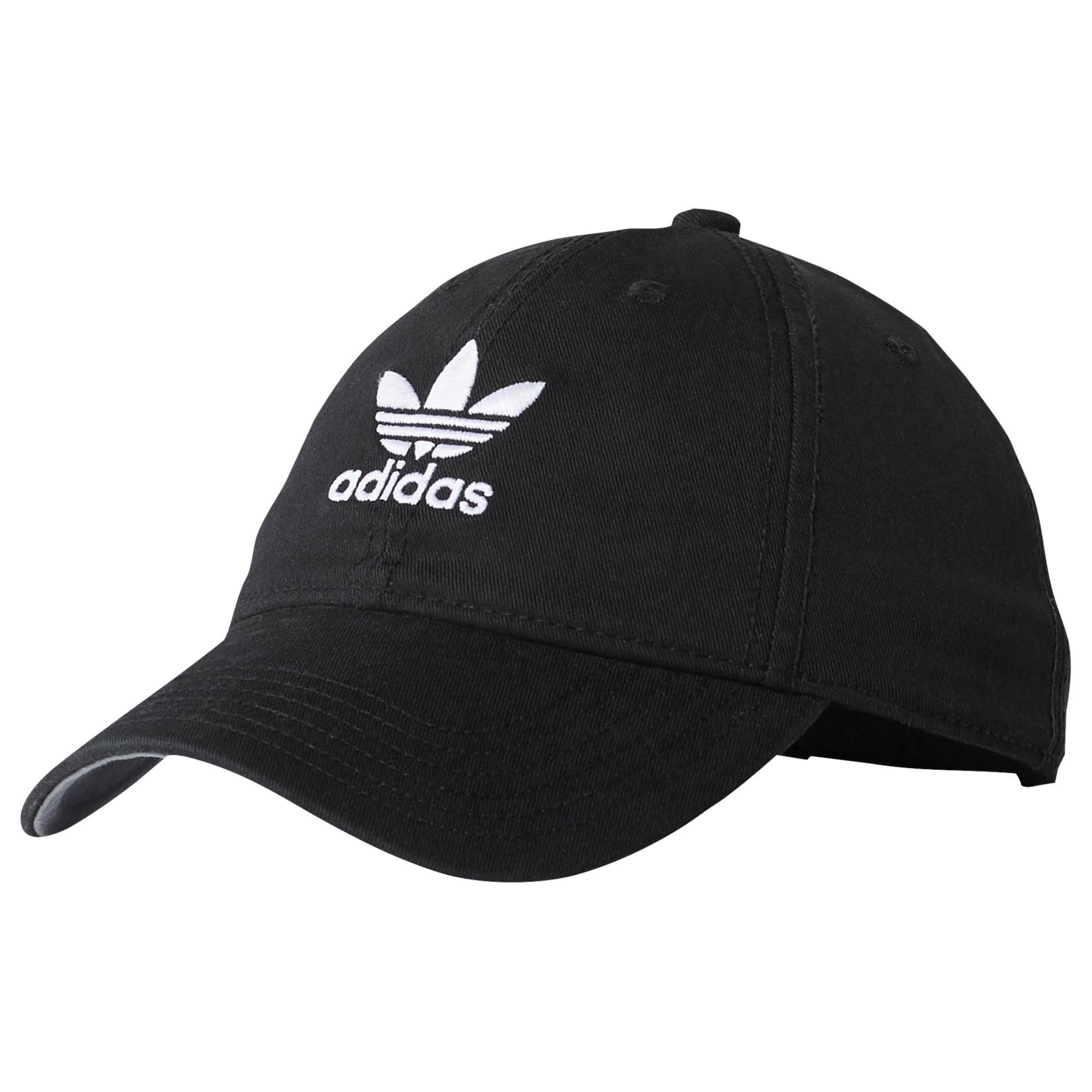 f2591db171b Lyst - Adidas Originals Relaxed Strapback Hat in Black for Men