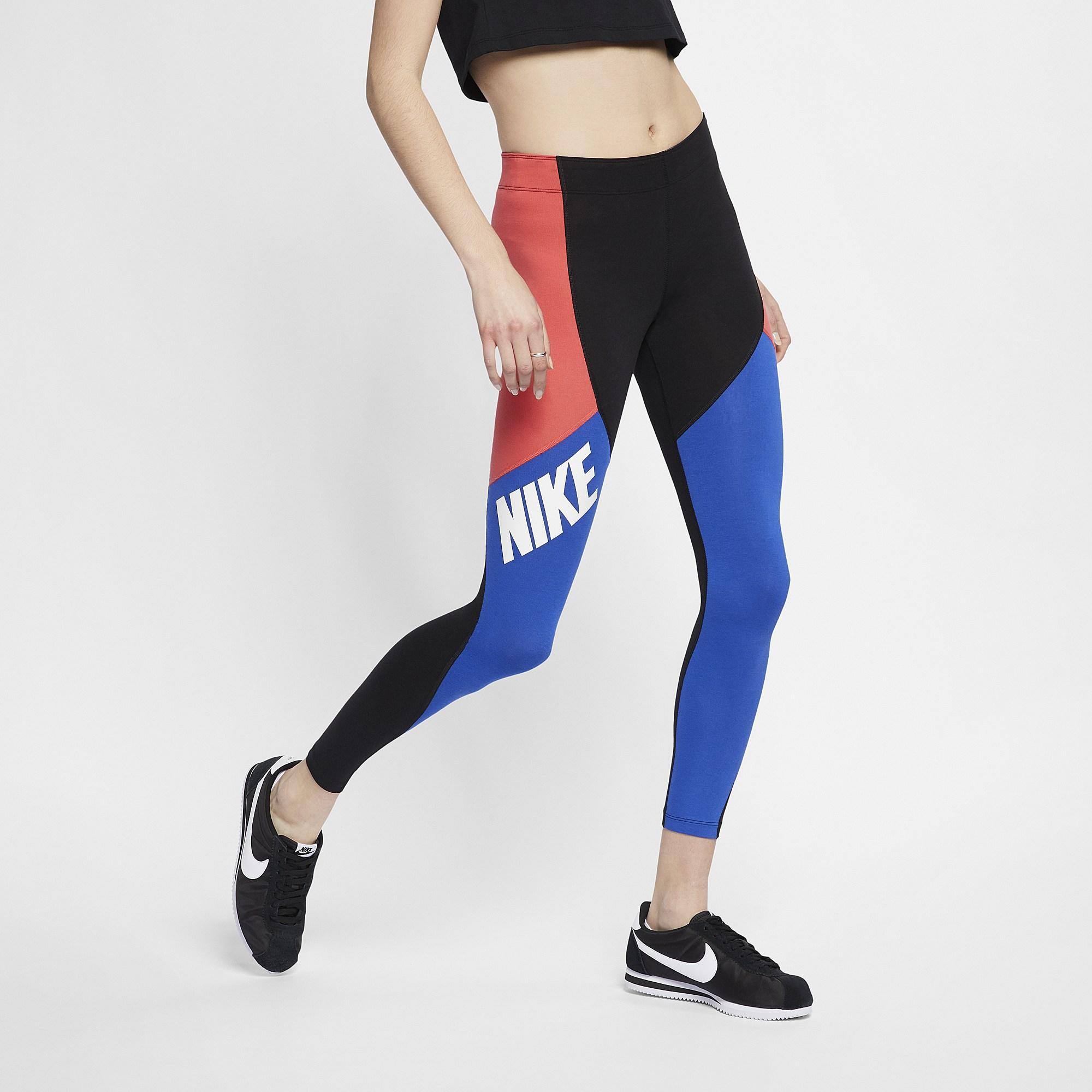 20db1427cde8a Nike. Women's Sport Distort Colorblock Leggings