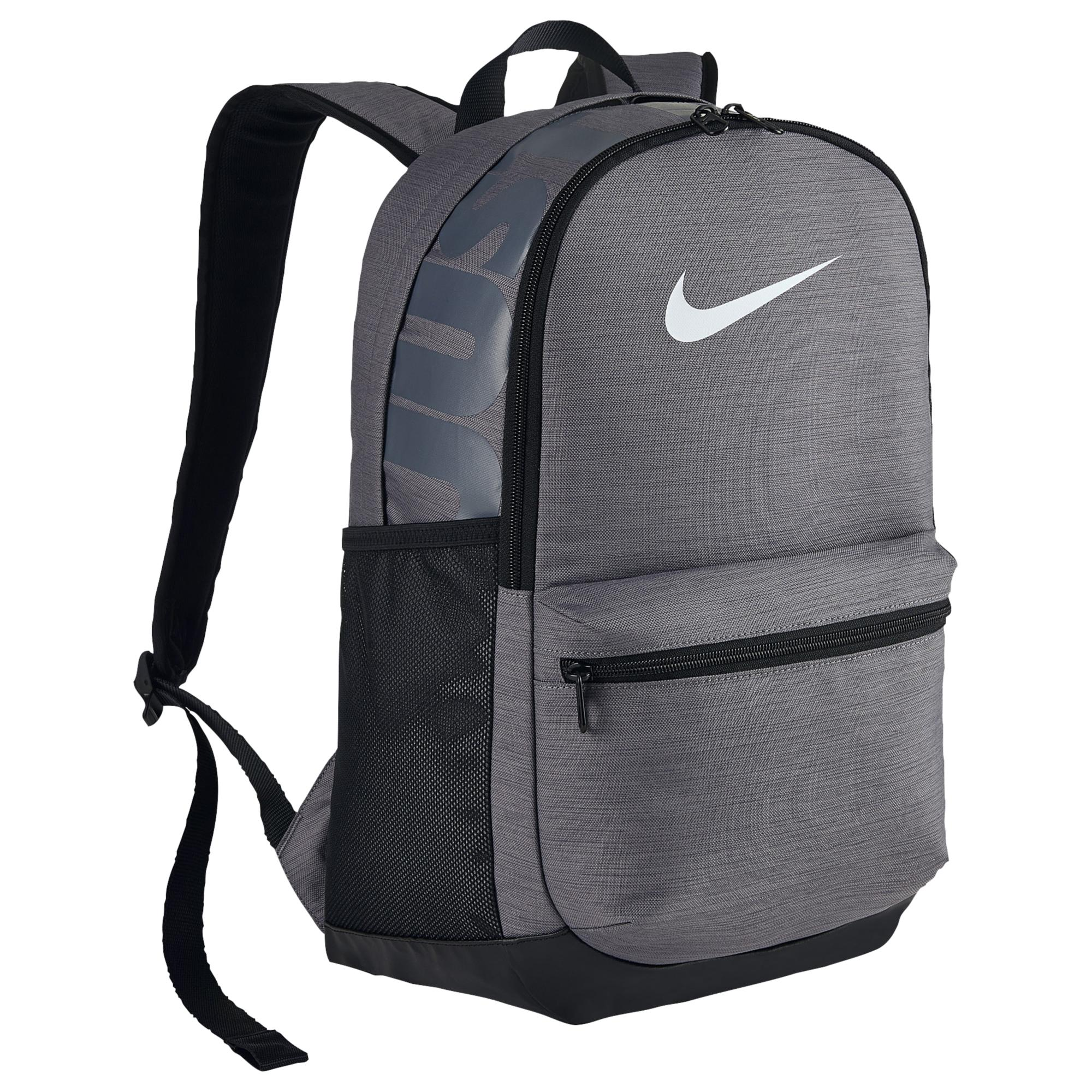 4bbf7458ea7b7 Lyst - Nike Brasilia Medium Backpack in Gray