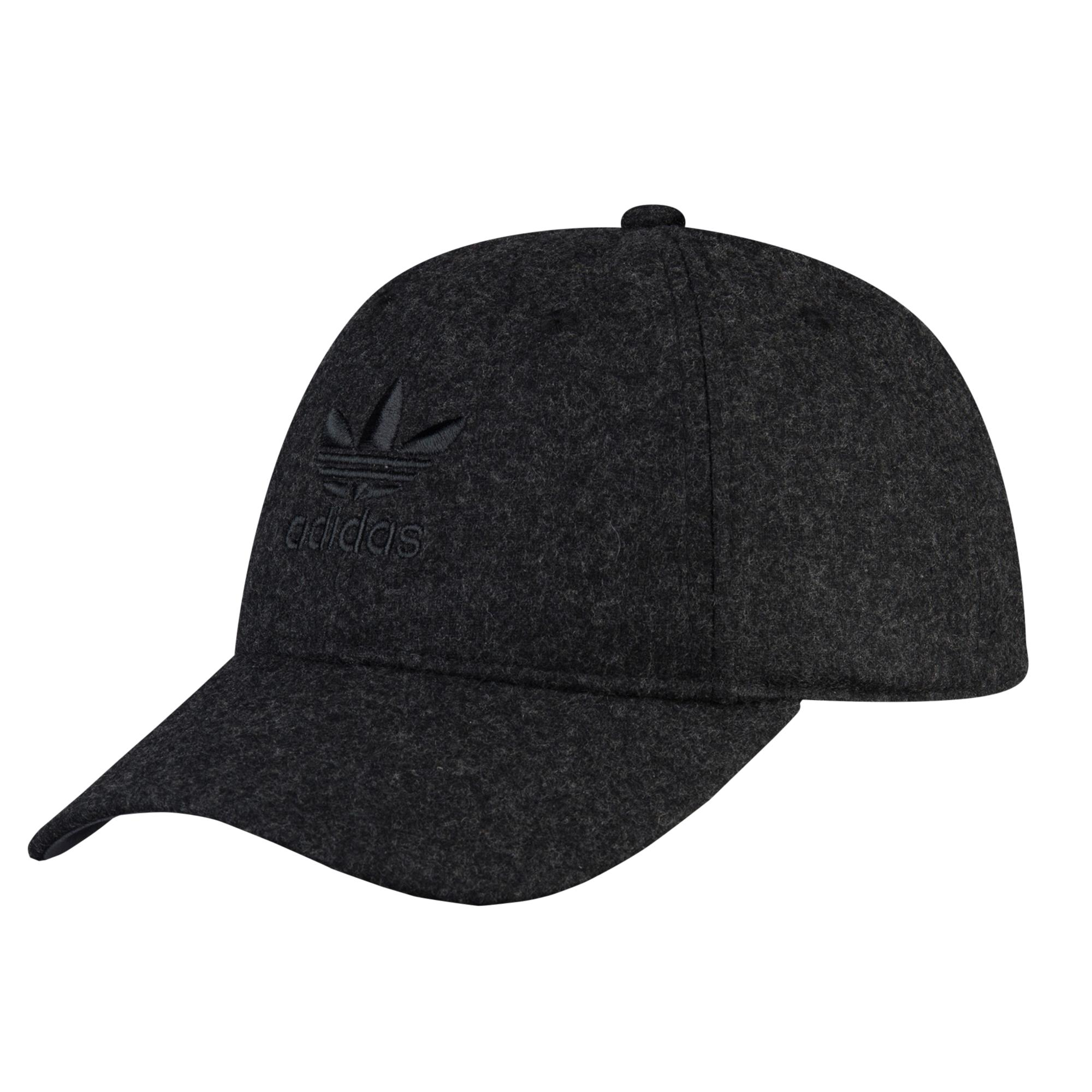 2ca3ceceddf Lyst - Adidas Originals Relaxed Plus Strapback in Black for Men