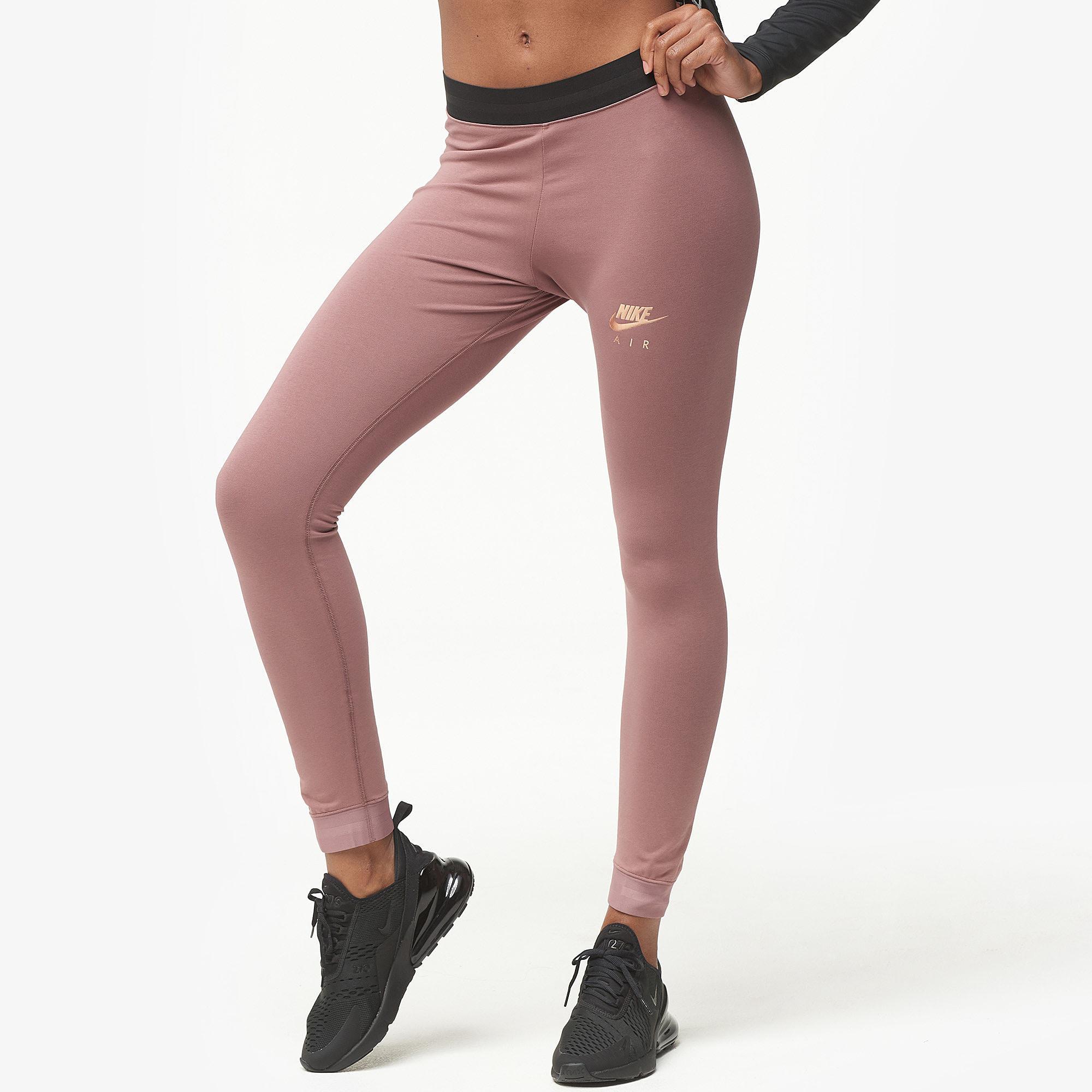 629323dedaa98 Nike - Multicolor Rose Gold Metallic Air Leggings - Lyst. View fullscreen