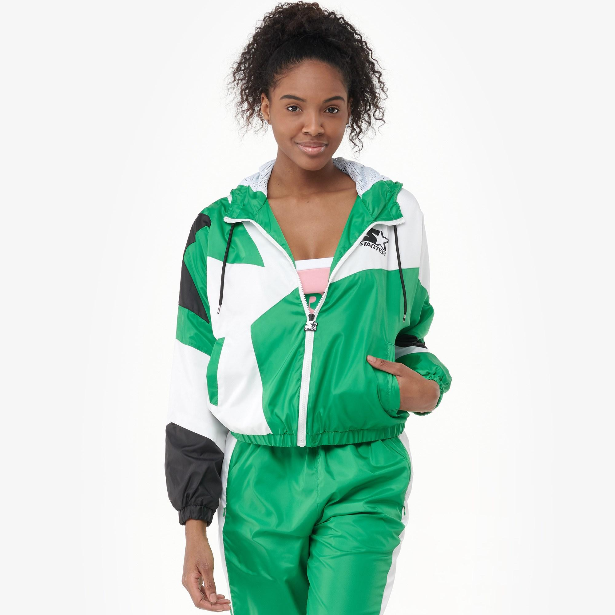 b42d131ac7 Lyst - Starter Colorblock Full-zip Track Jacket in Green