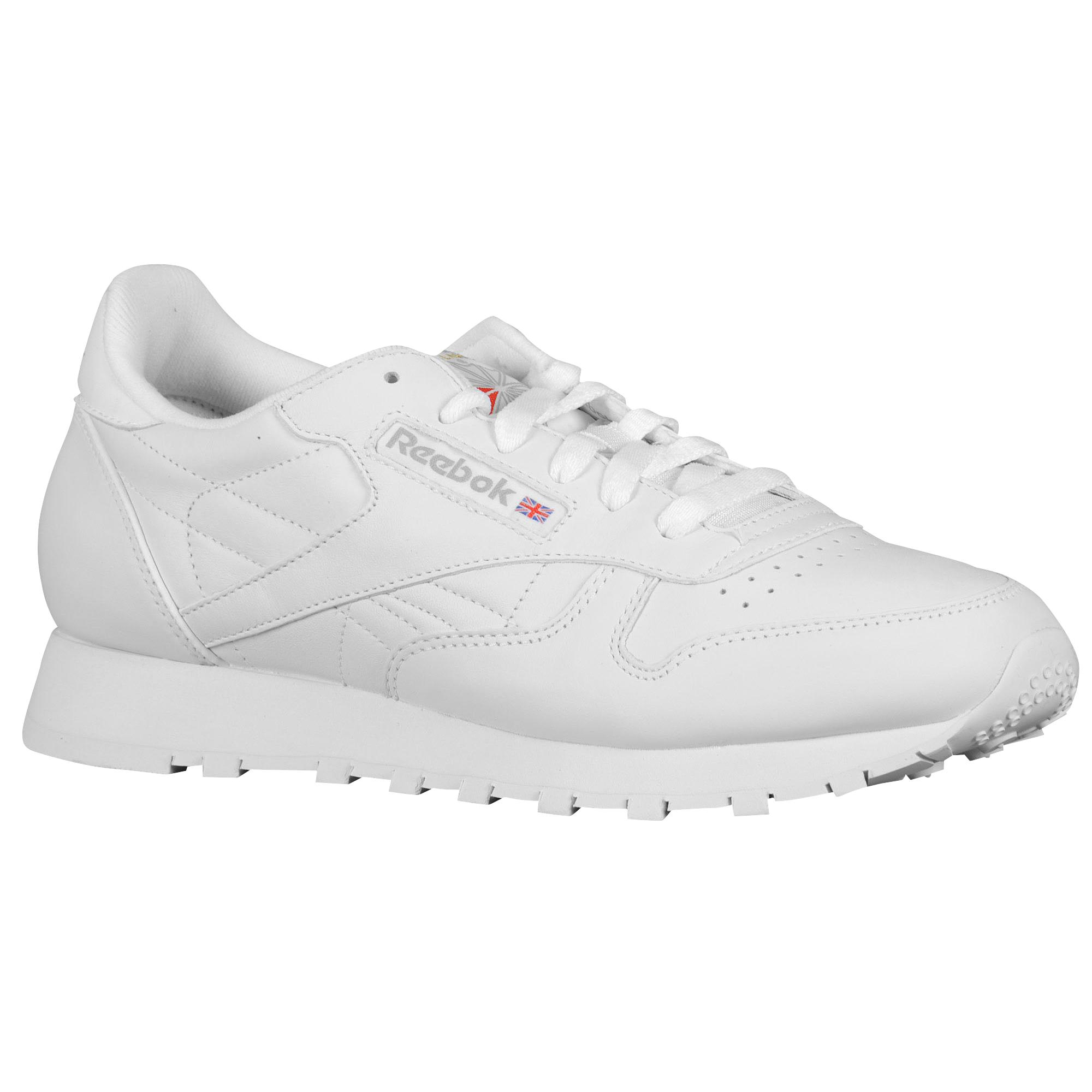 234bc4216e7 Reebok - White Classic Leather - Lyst. View fullscreen