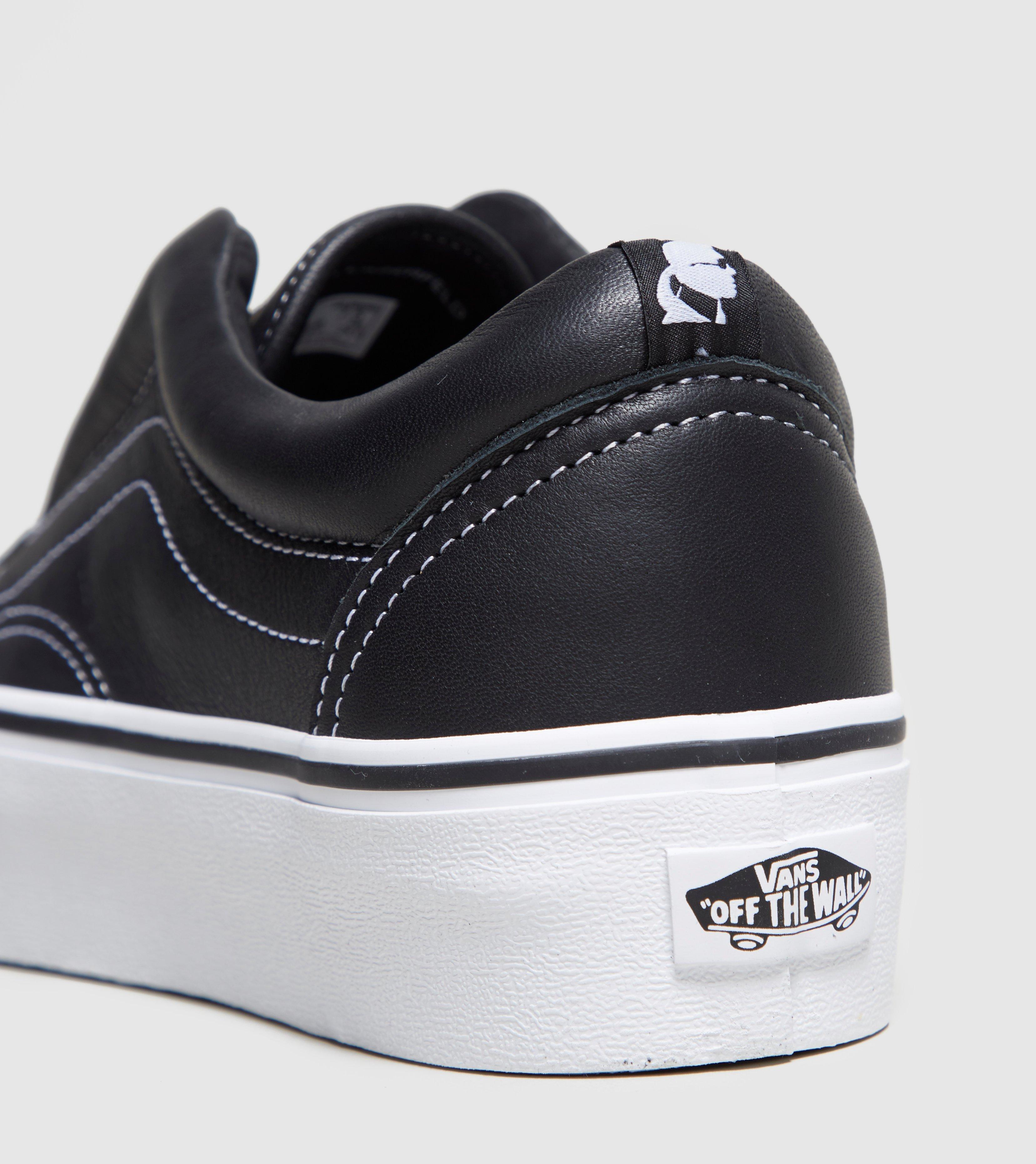 4e5deab5da93 Lyst - Vans X Karl Lagerfeld Laceless Platform Women s in Black
