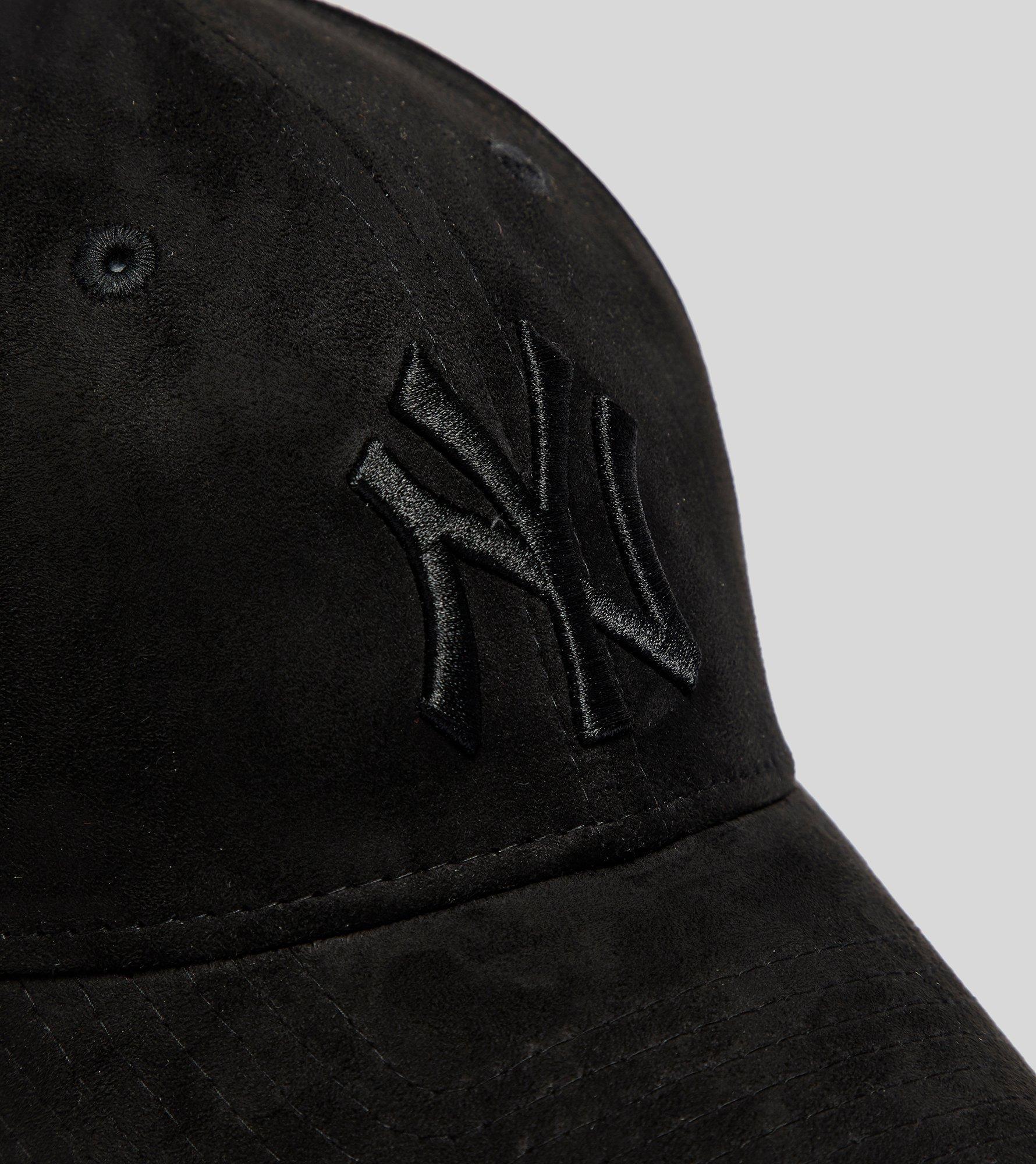 cd98ef36 ... uk lyst ktz 9forty new york yankees suede cap in black for men f4504  438d6