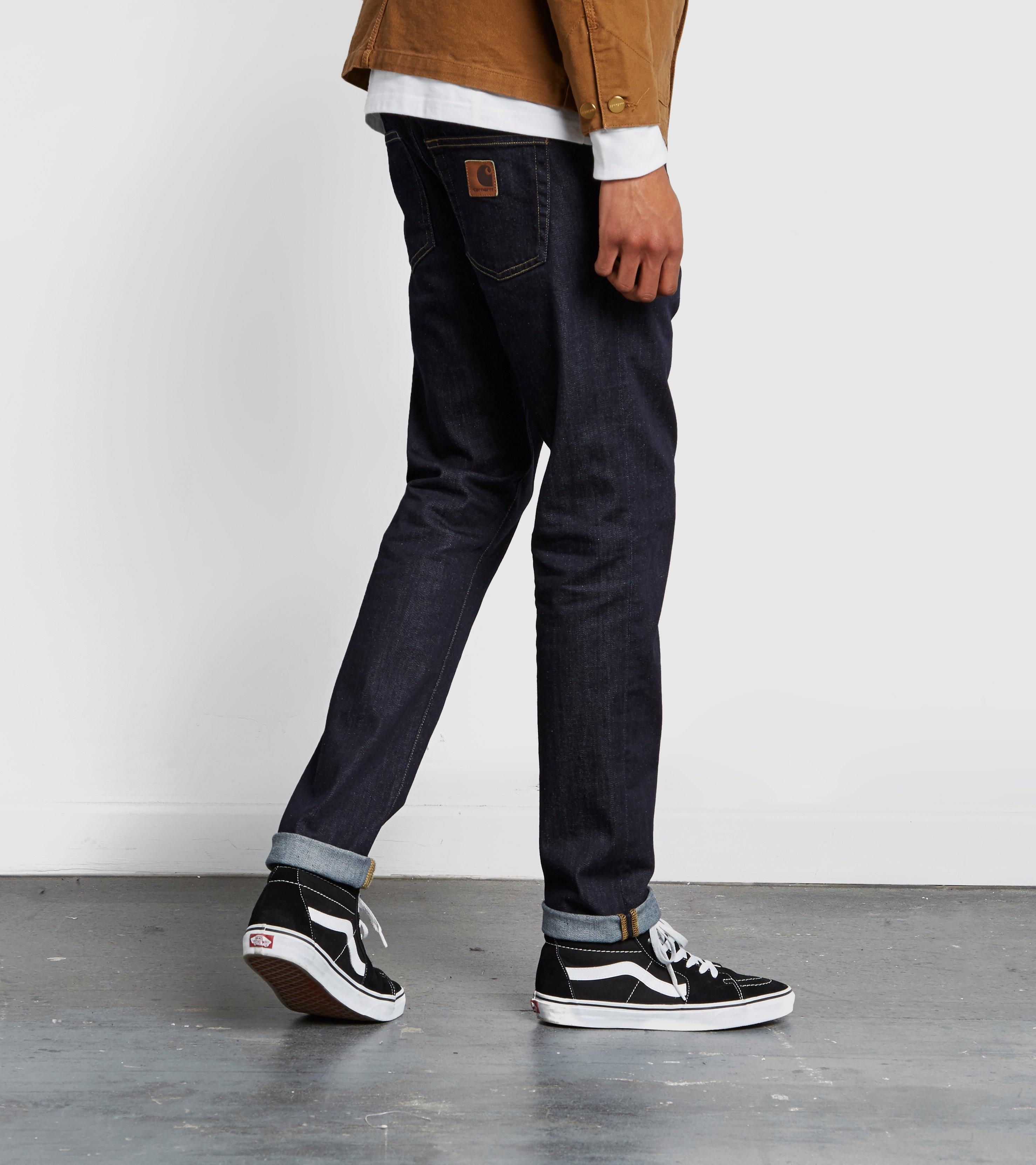 Rebel Pant In Slim Tapered Fit In Blue - Blue Carhartt Work in Progress New And Fashion Cheap Sale 2018 New Outlet Discounts wrlugrso93