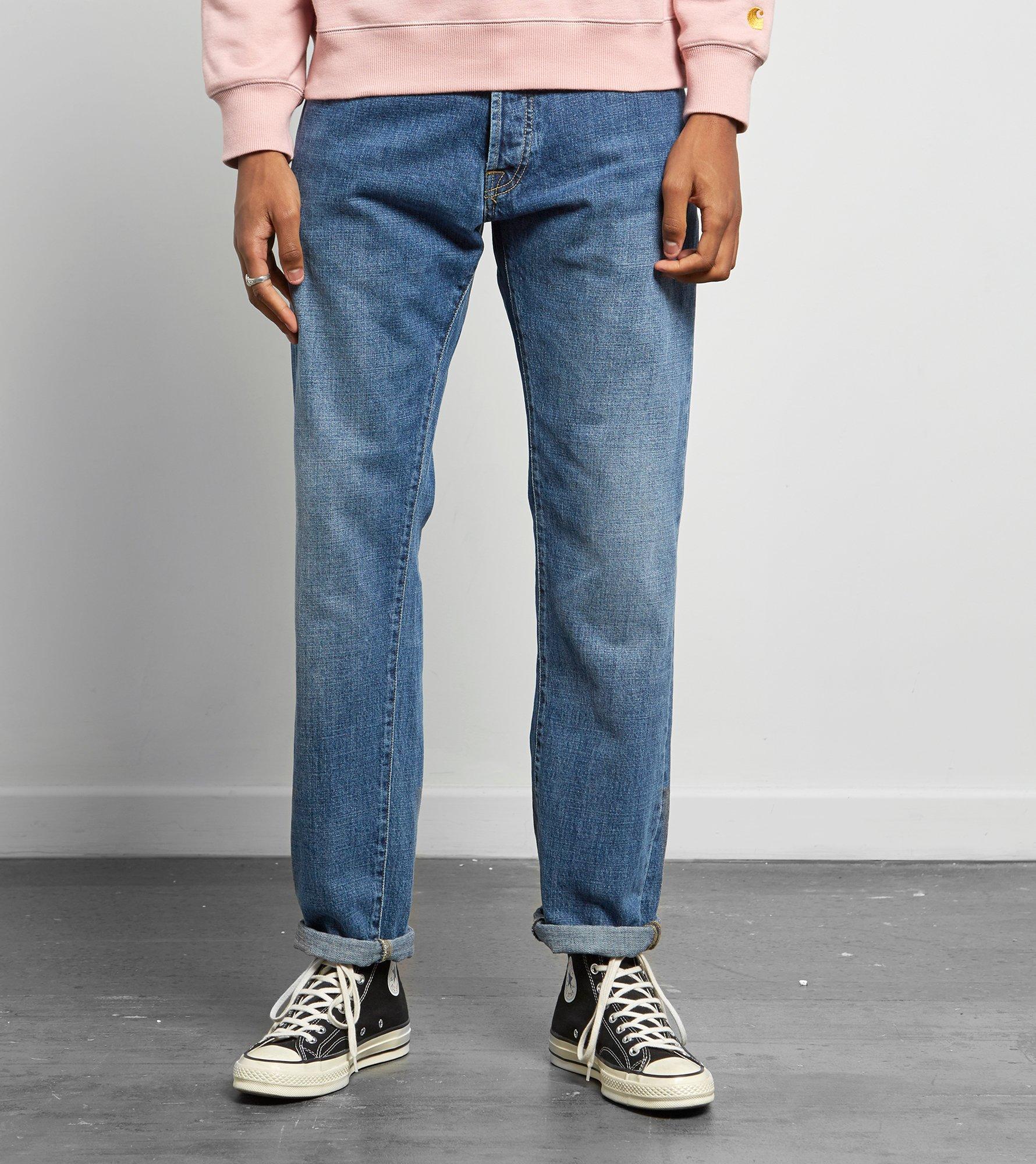 4ce11c05f49 Carhartt WIP Klondike Selvedge Jeans in Blue for Men - Lyst