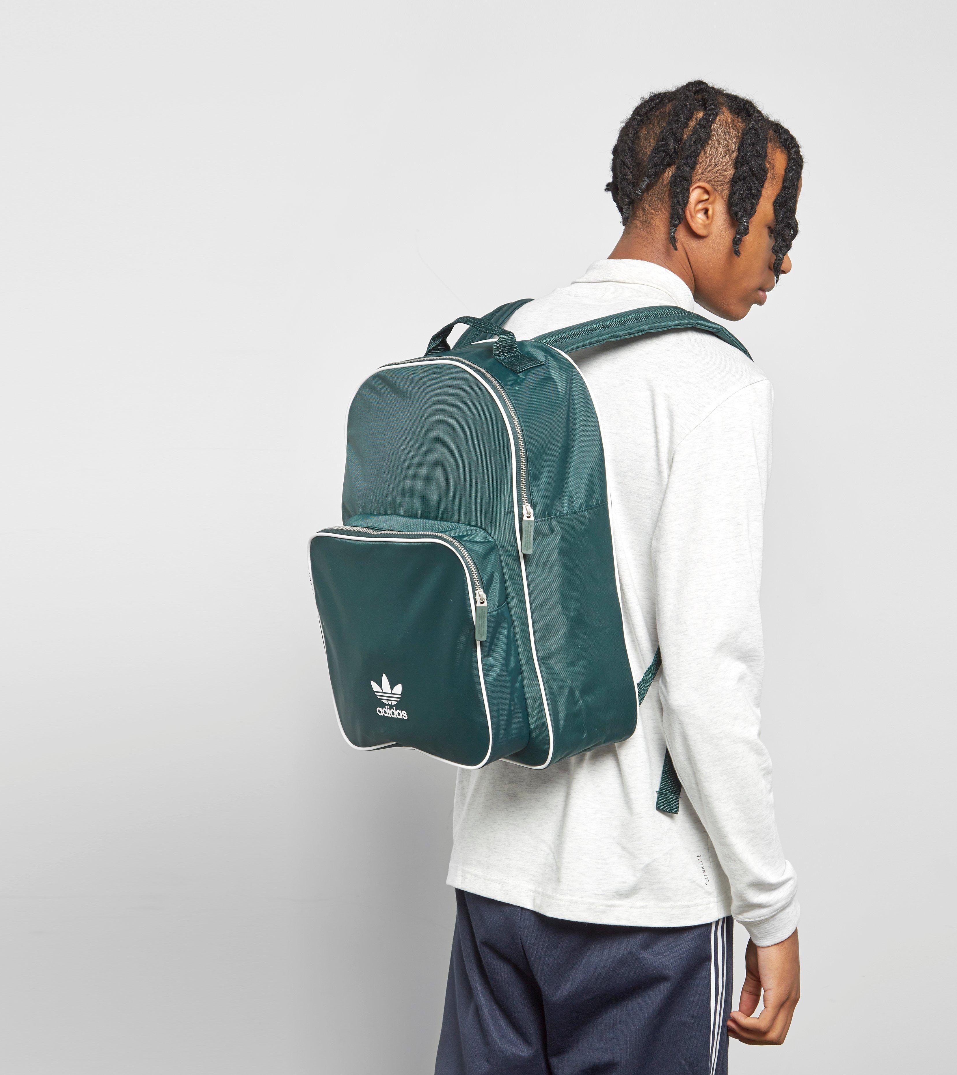 adidas Originals Adicolor Backpack in Green for Men - Lyst 67aabff3aefdd