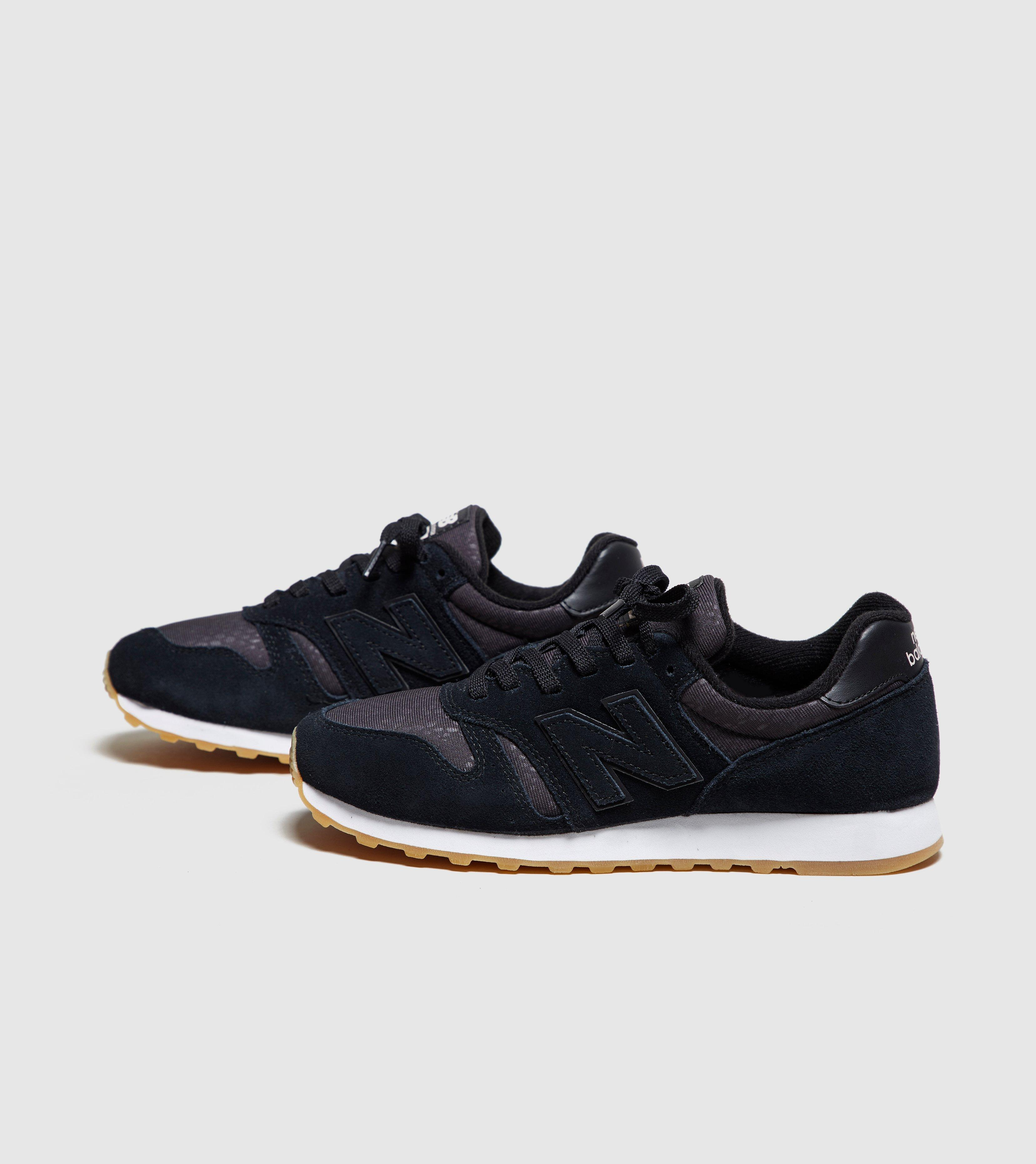 new balance 373 black gum