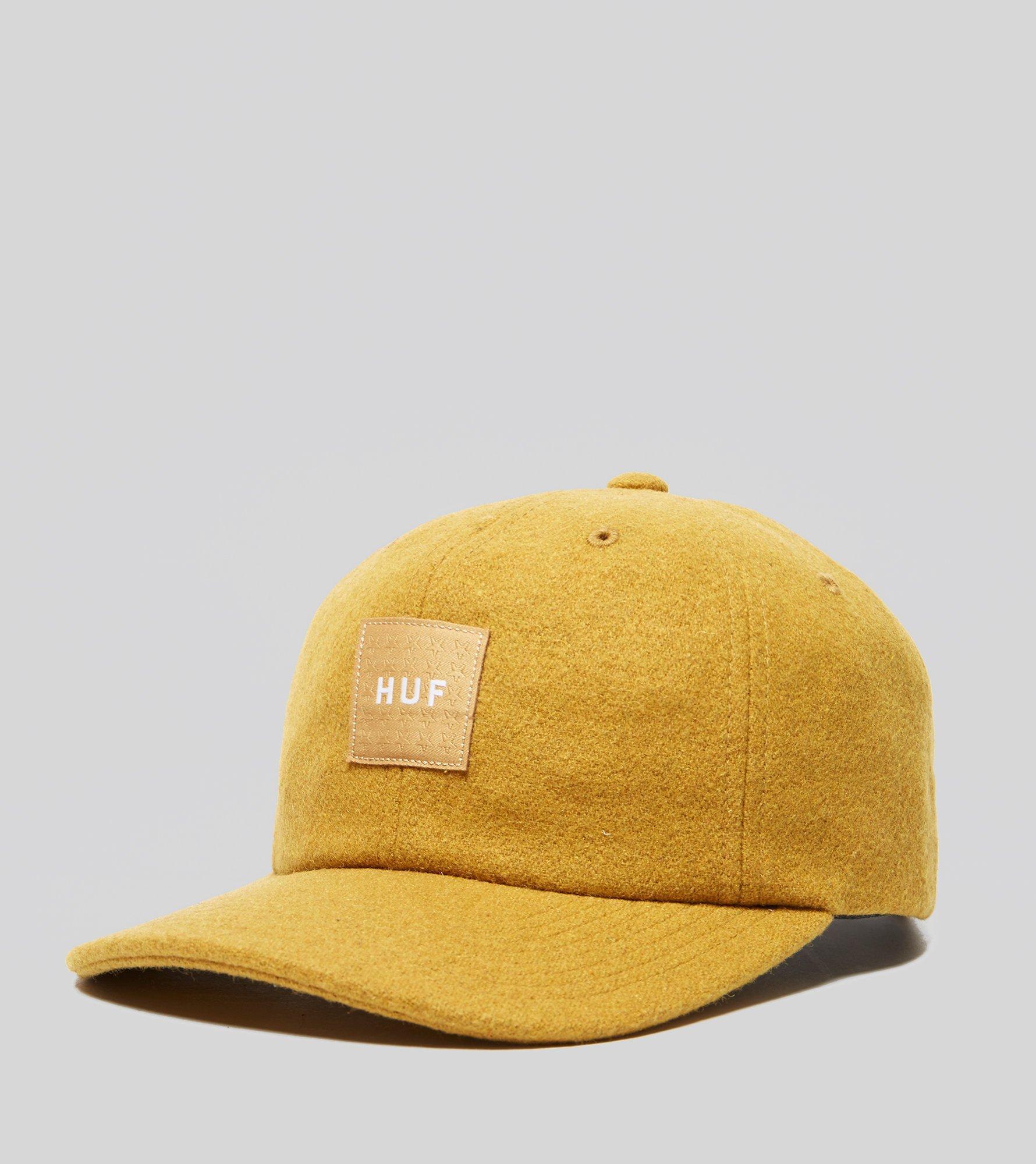 1568f92d703 ... germany lyst huf wool box logo hat in yellow for men c8843 edd42